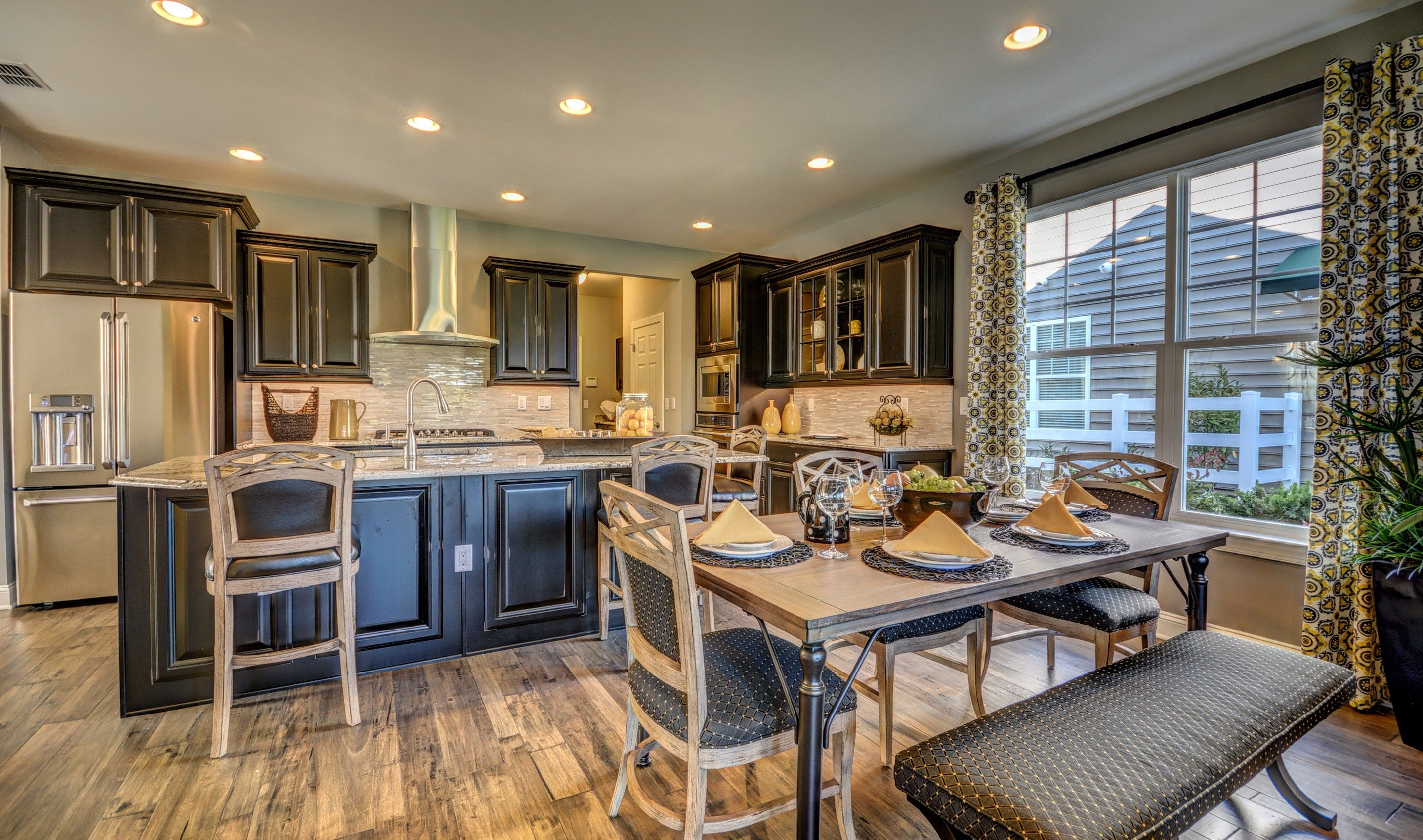 Kitchen-in-Monterey II-at-K. Hovnanian's® Four Seasons at Monmouth Woods-in-Howell