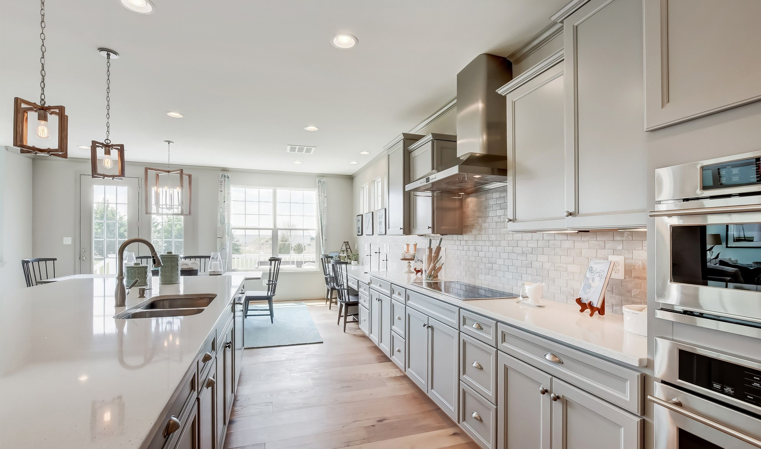 Kitchen featured in the Delaware II By K. Hovnanian® Homes in Dover, DE