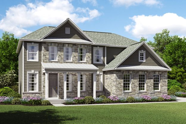 Exterior:Henderson G with stone