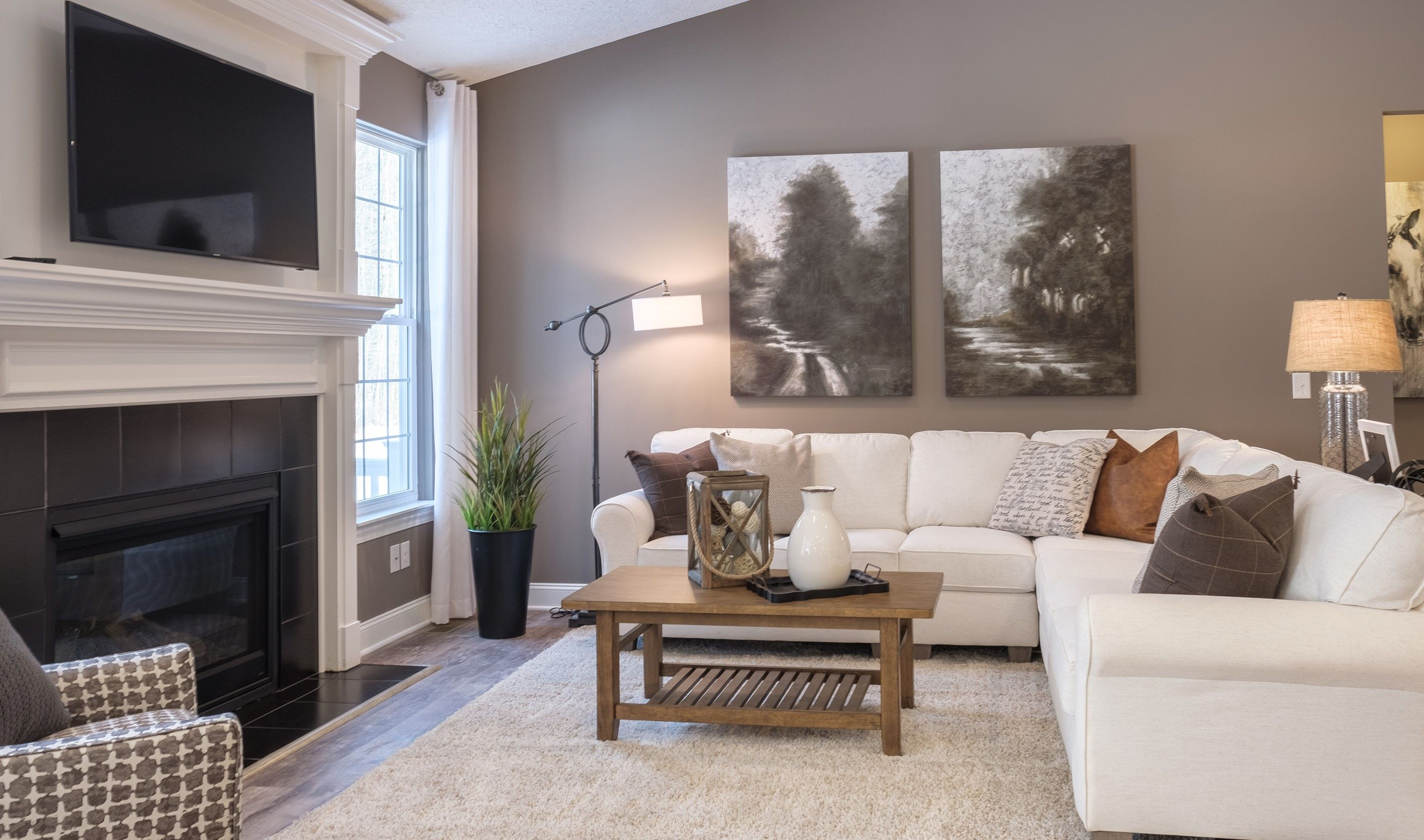 Living Area featured in the Bedford By K. Hovnanian® Homes in Cleveland, OH