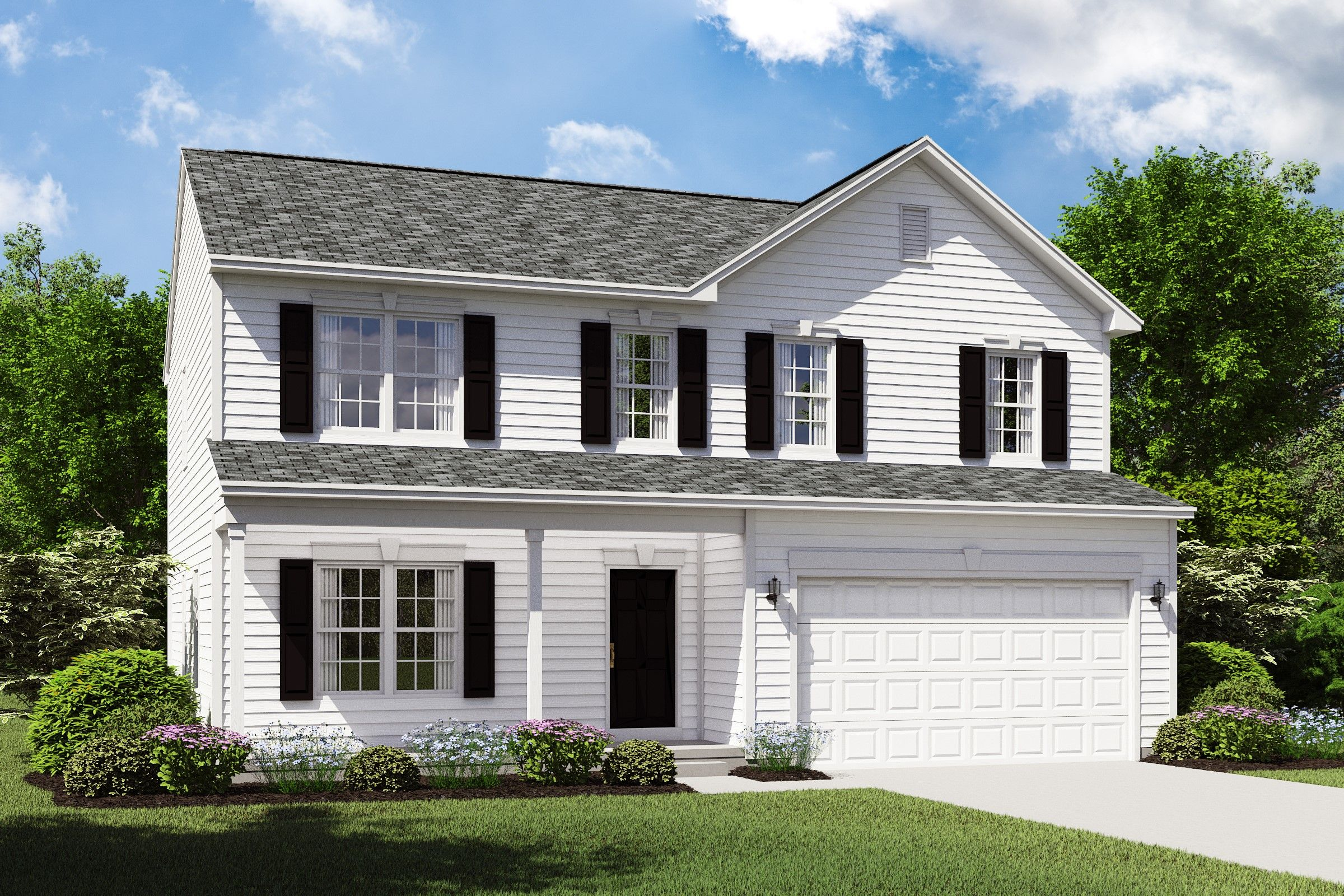 Exterior featured in the Hanover By K. Hovnanian® Homes in Cleveland, OH