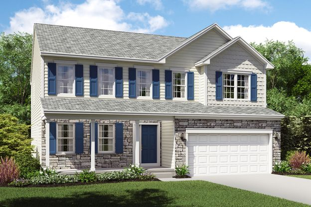 Exterior:Brantwood C with opt. stone