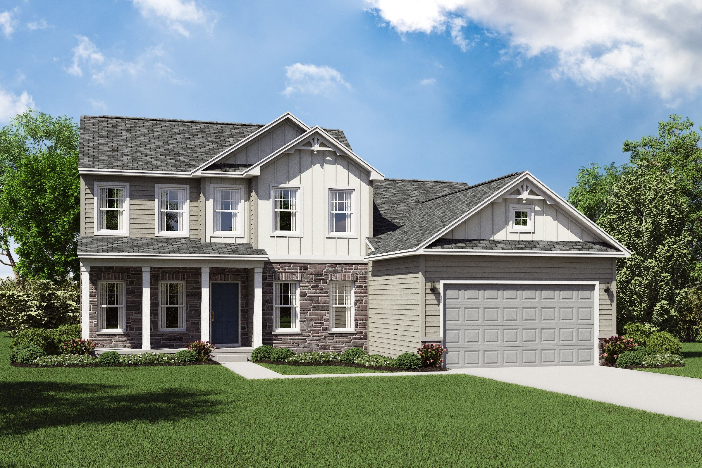 Exterior featured in the Lakeport By K. Hovnanian® Homes in Cleveland, OH