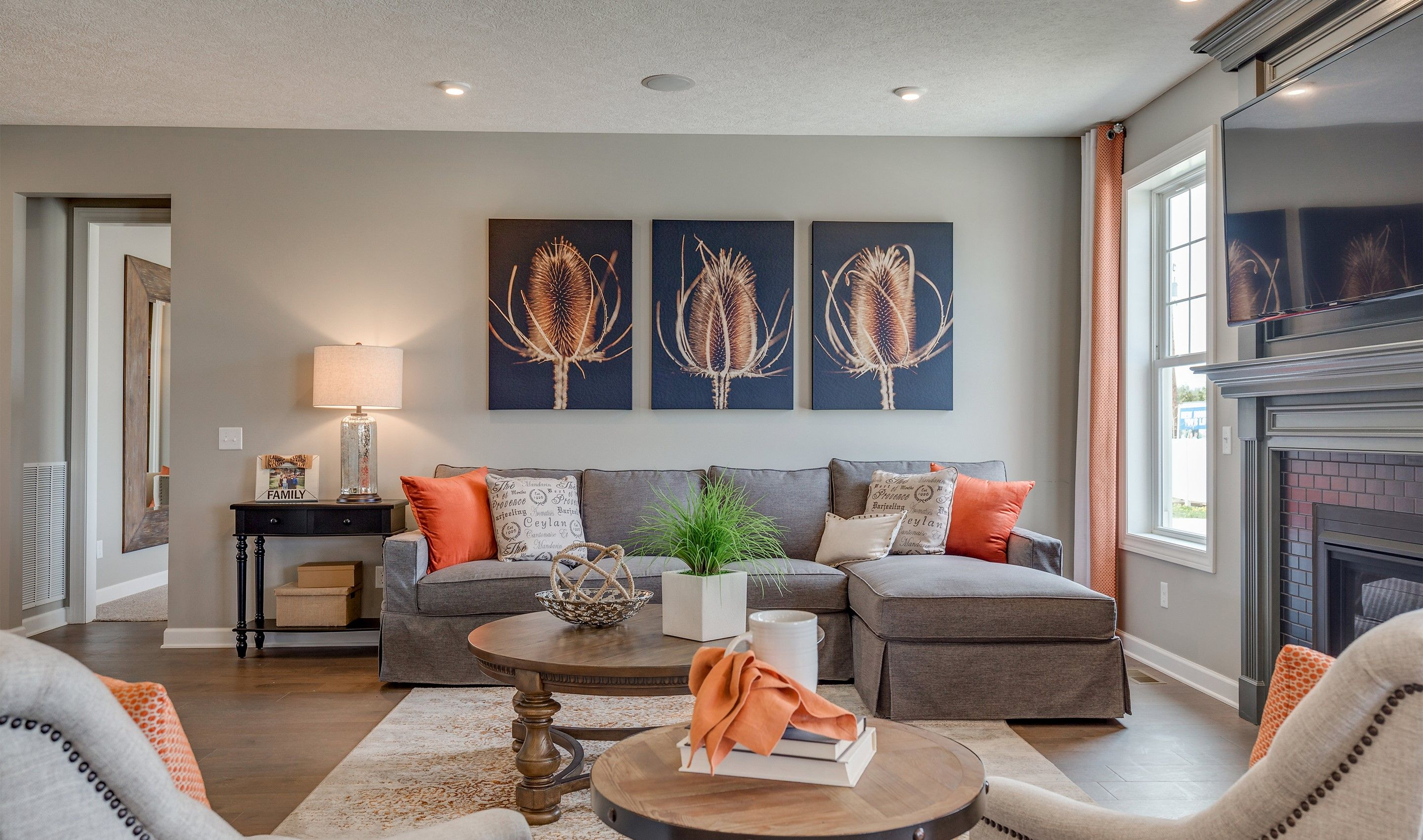 Living Area featured in the Faulkner By K. Hovnanian® Homes - Build on Your Lot
