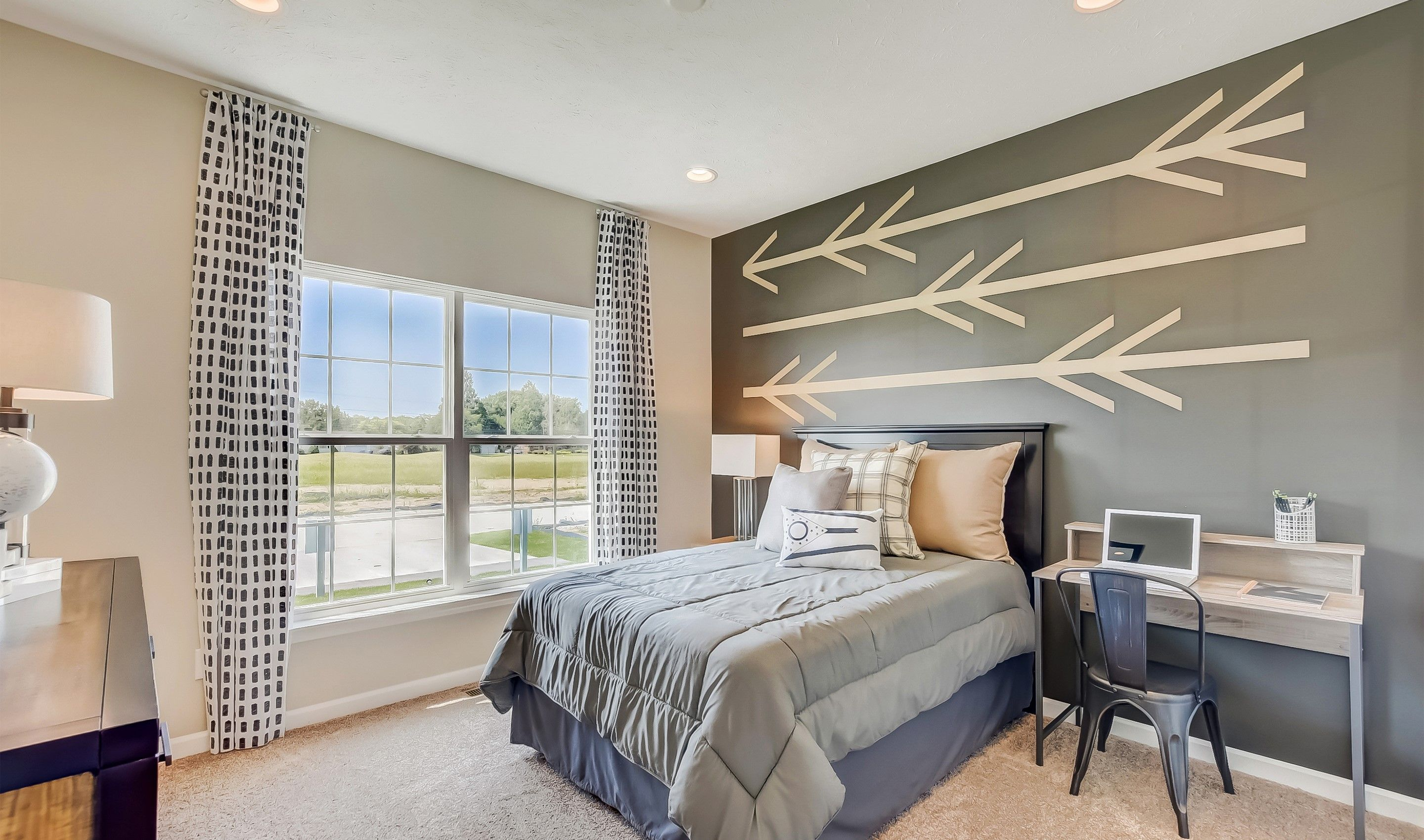 Bedroom featured in the Eastwood  Loft - 3 Car Garage By K. Hovnanian® Homes in Cleveland, OH