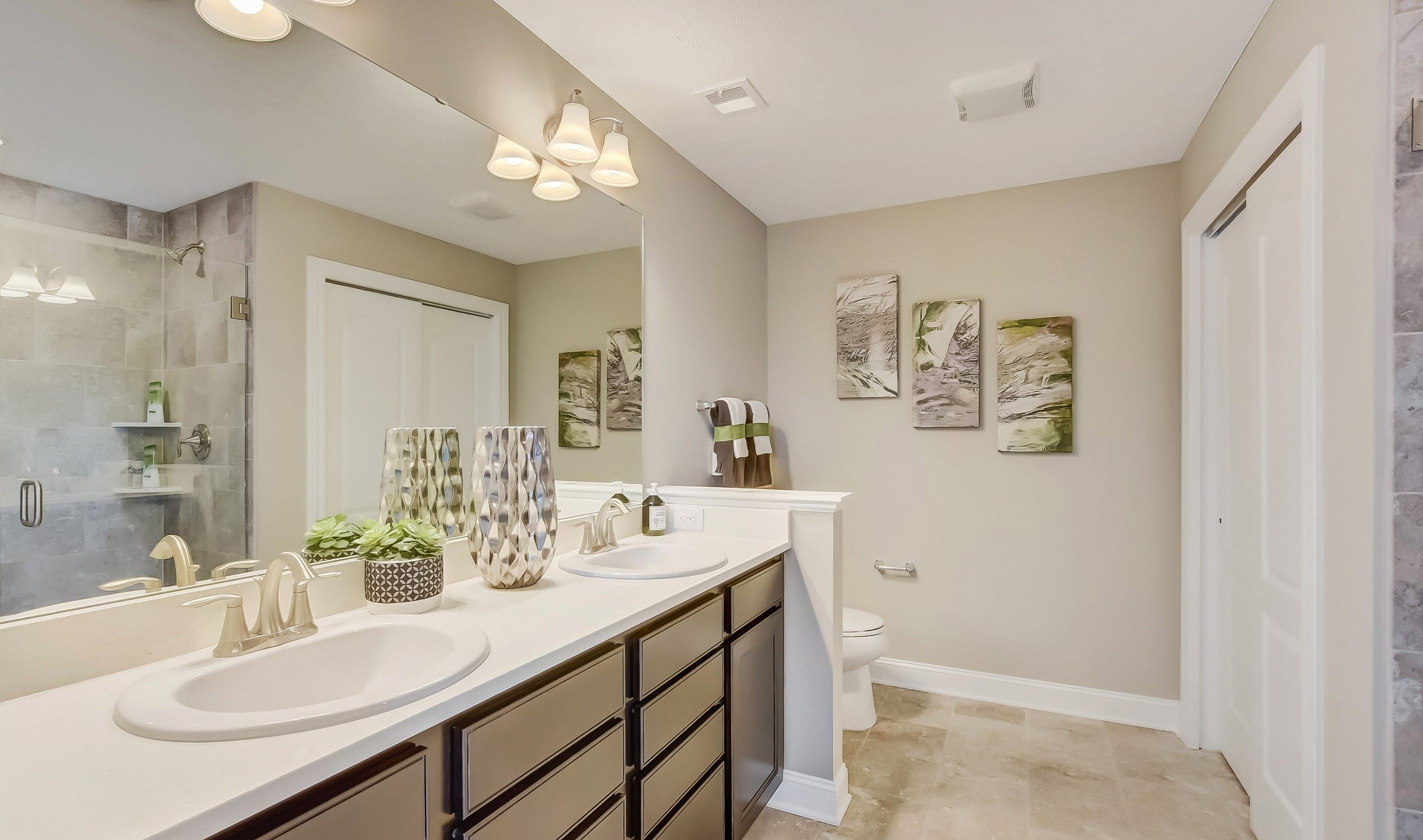 Bathroom featured in the Waterford II By K. Hovnanian® Homes in Cleveland, OH