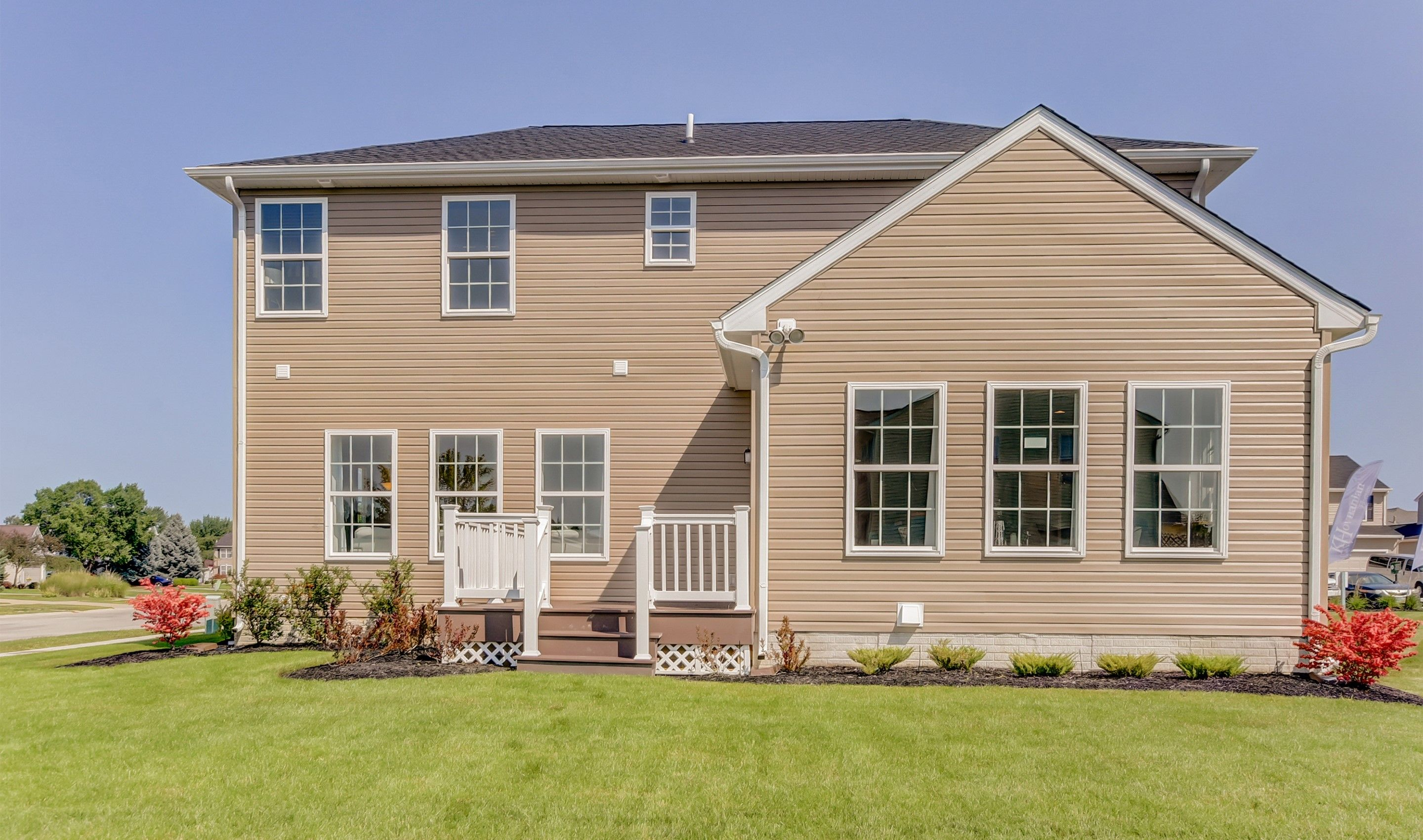 Exterior featured in the Wellington By K. Hovnanian® Homes in Cleveland, OH
