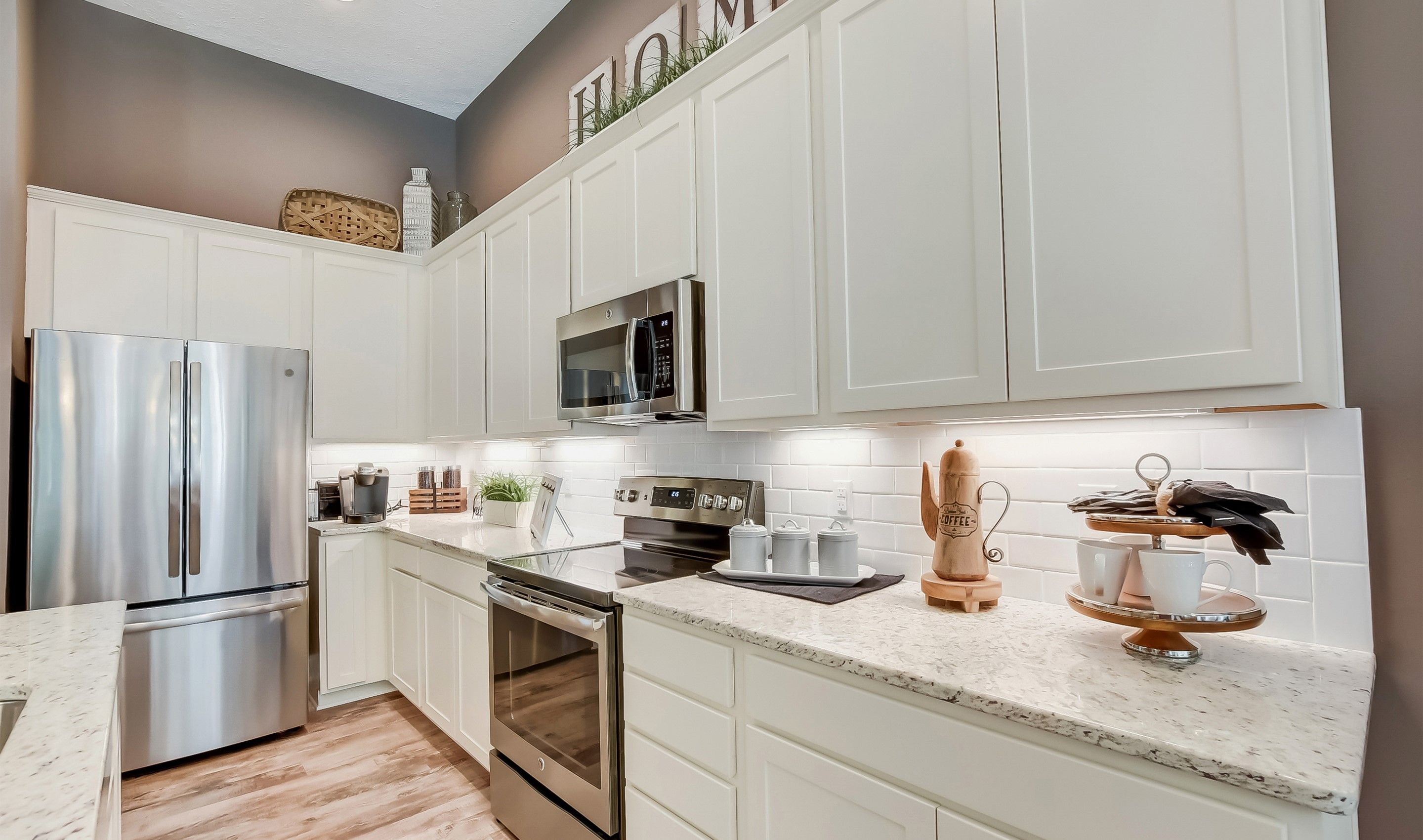 Kitchen featured in the Bedford By K. Hovnanian's® Four Seasons in Cleveland, OH