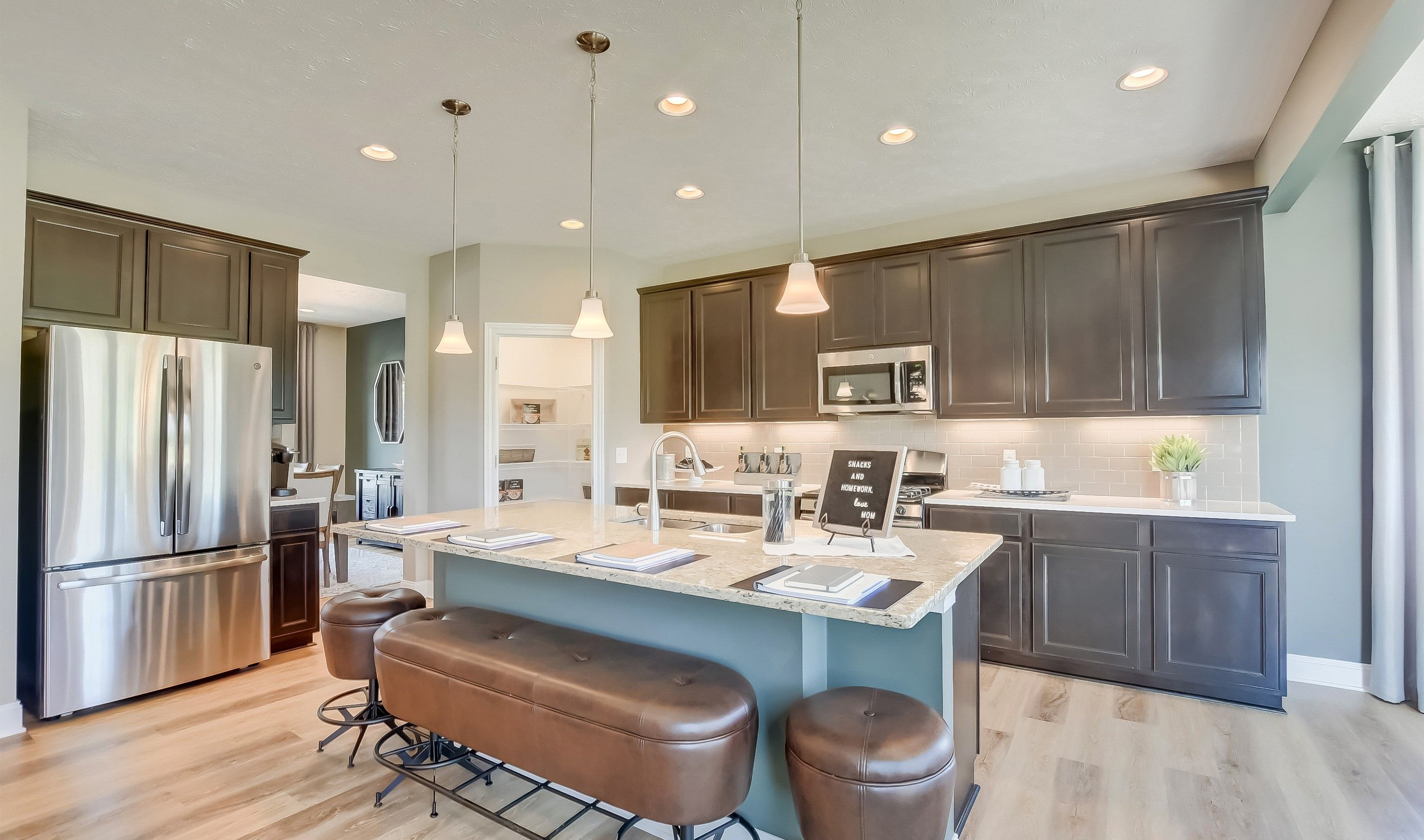 Kitchen featured in the Waterford II By K. Hovnanian® Homes in Cleveland, OH