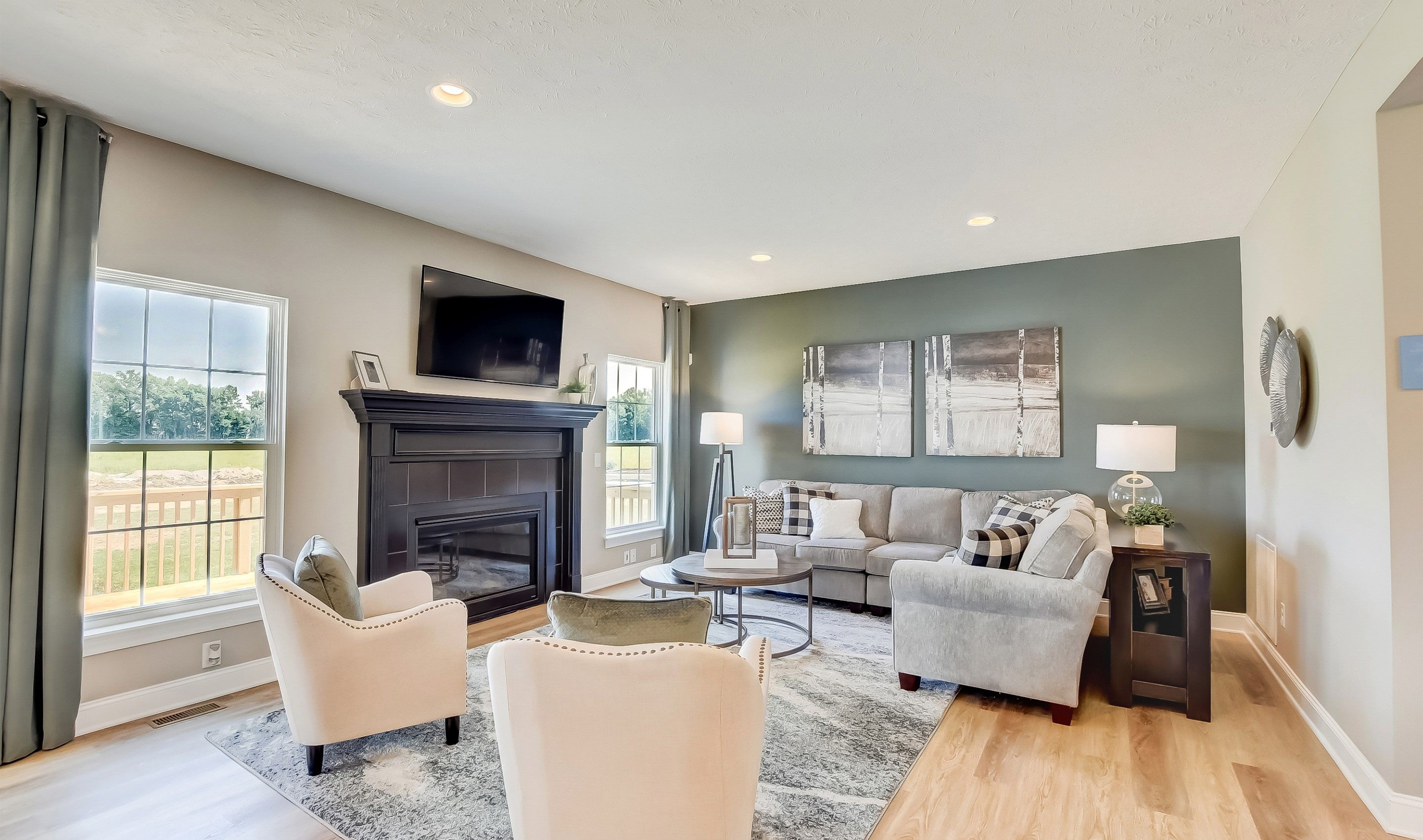Living Area featured in the Waterford II By K. Hovnanian® Homes in Cleveland, OH