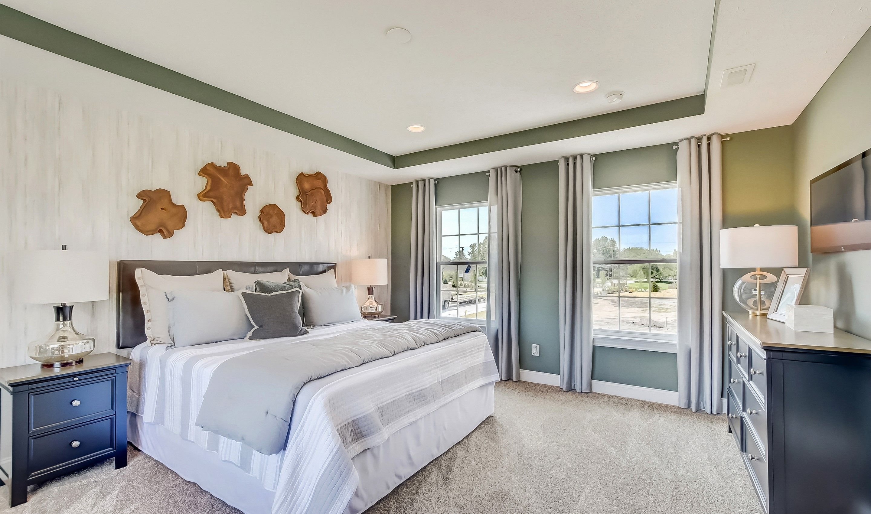 Bedroom featured in the Waterford II By K. Hovnanian® Homes in Cleveland, OH