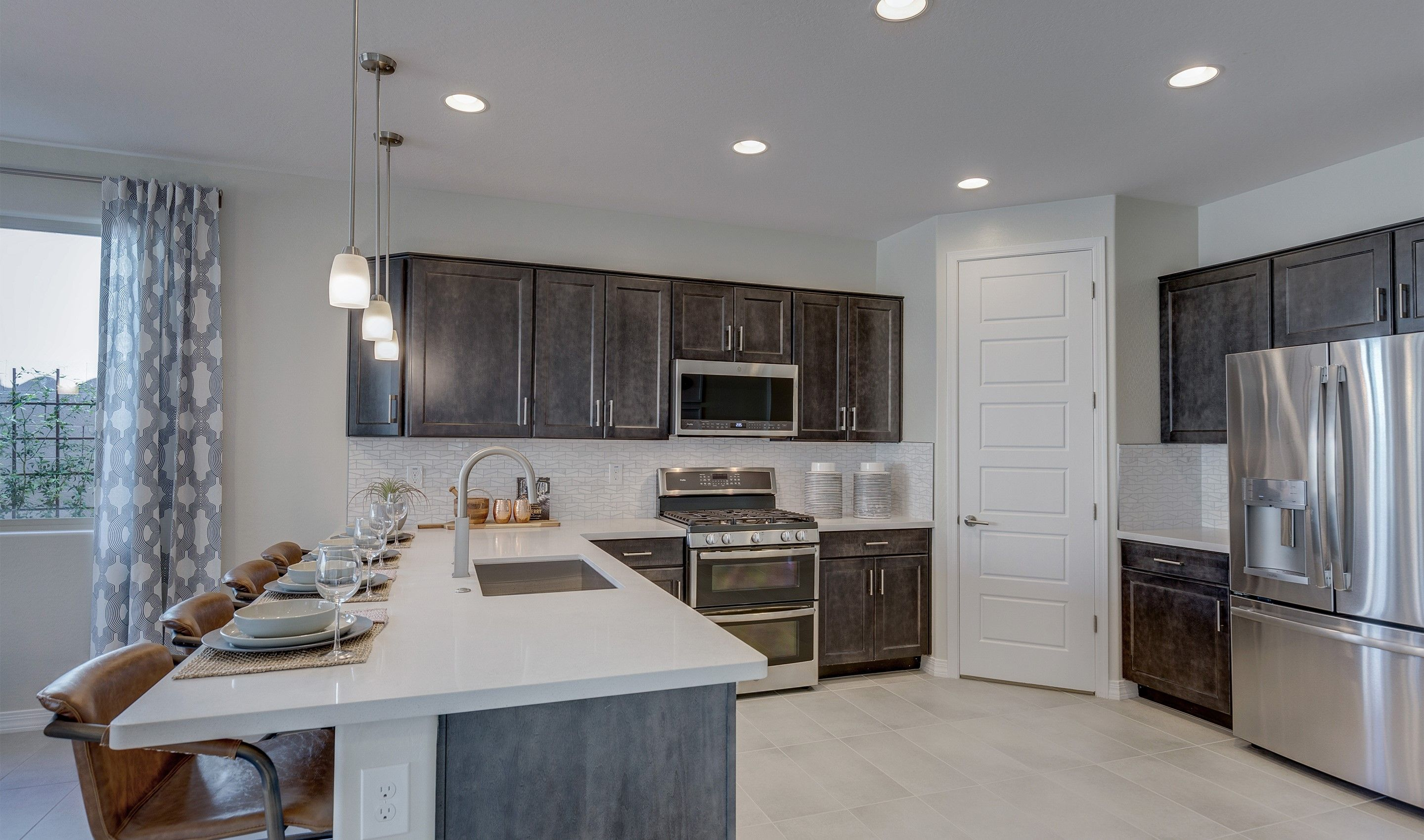 Kitchen-in-Firetail-at-K. Hovnanian's® Four Seasons at Ventana Lakes-in-Sun City