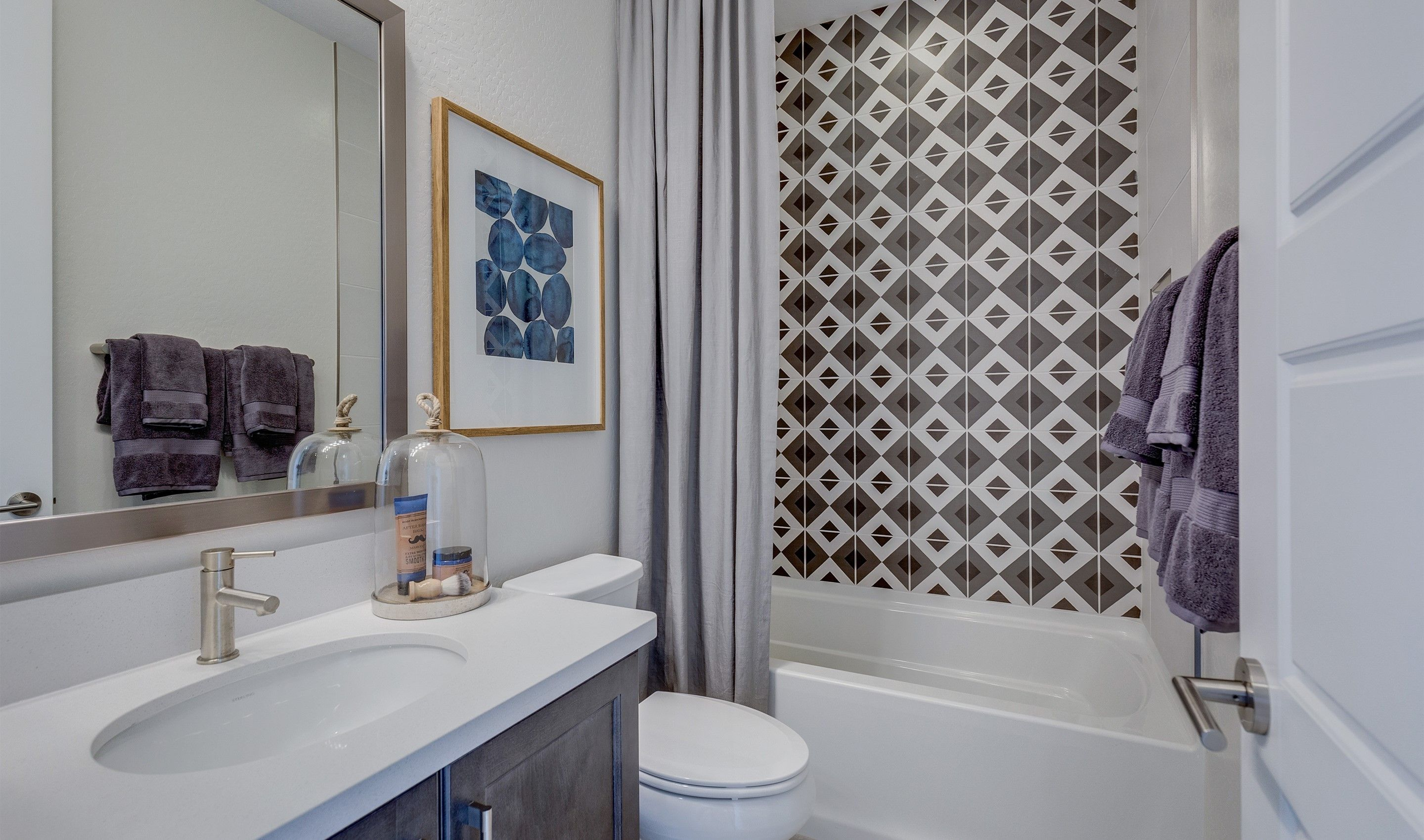 Bathroom-in-Firetail-at-K. Hovnanian's® Four Seasons at Ventana Lakes-in-Sun City