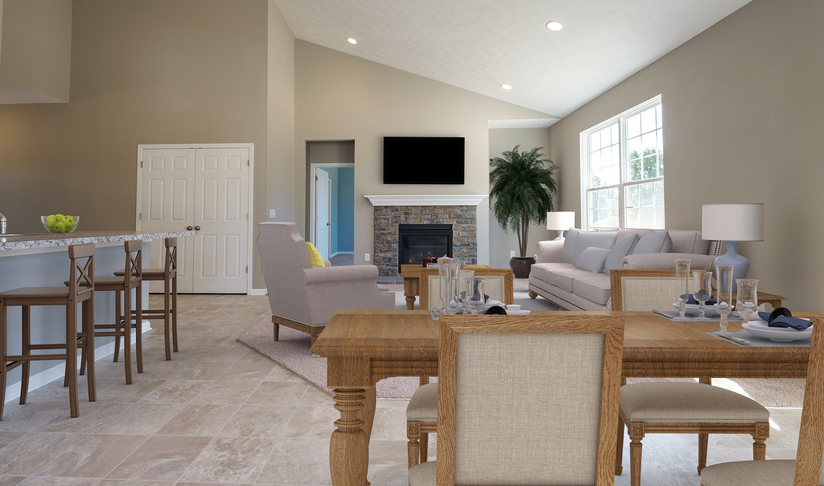 Living Area featured in the Oakridge By K. Hovnanian® Homes in Cleveland, OH