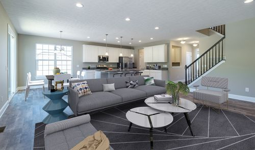 Greatroom-and-Dining-in-Baltimore-at-North Legend Court at Aberdeen-in-Highland Heights