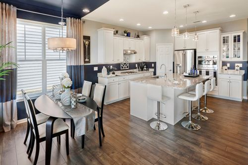 Kitchen-in-Dorchester Loft-at-K. Hovnanian's® Four Seasons at Monroe-in-Monroe