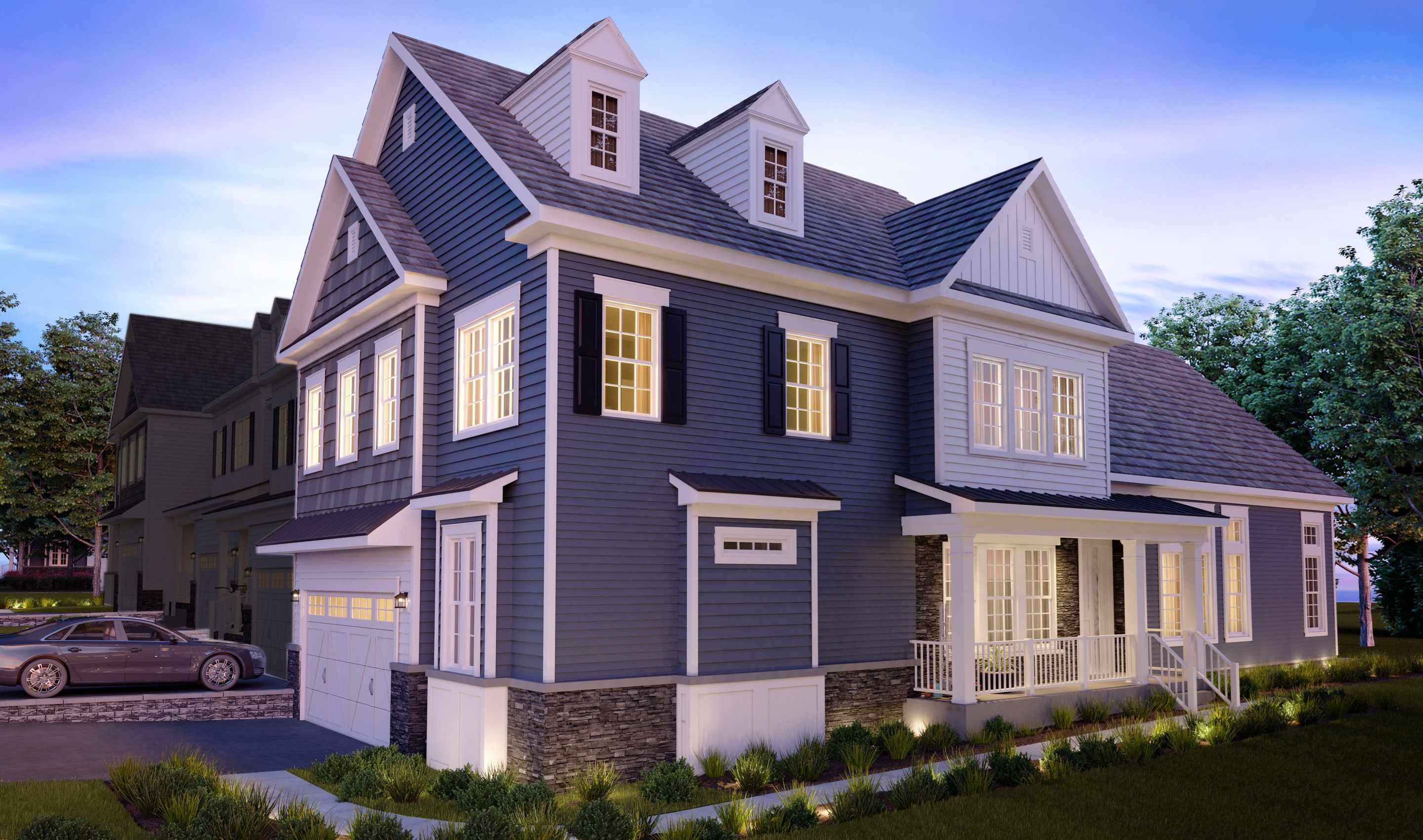 Exterior featured in the Colby By K. Hovnanian® Homes in Essex County, NJ