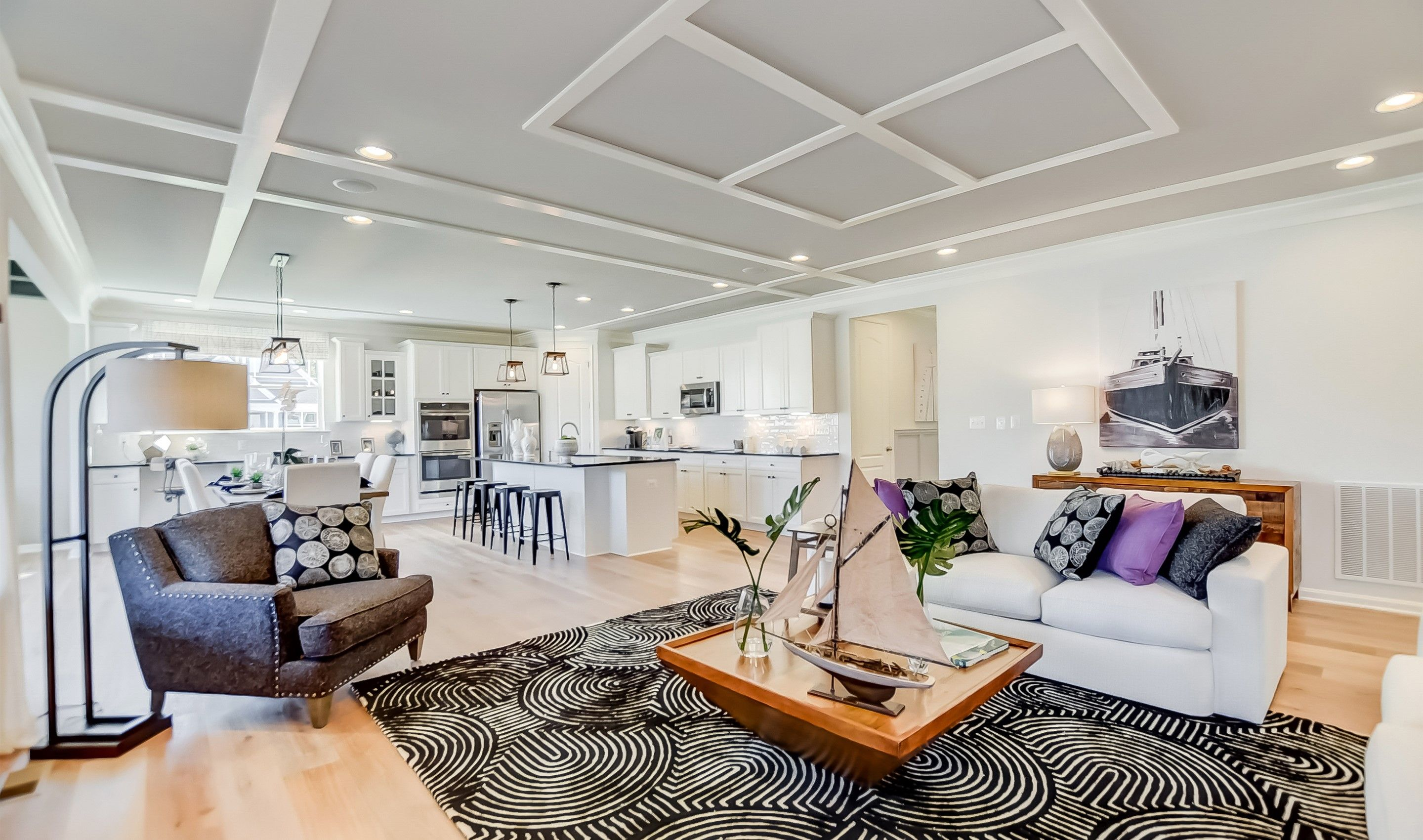 Living Area featured in the St Michaels By K. Hovnanian's® Four Seasons in Wilmington-Newark, DE