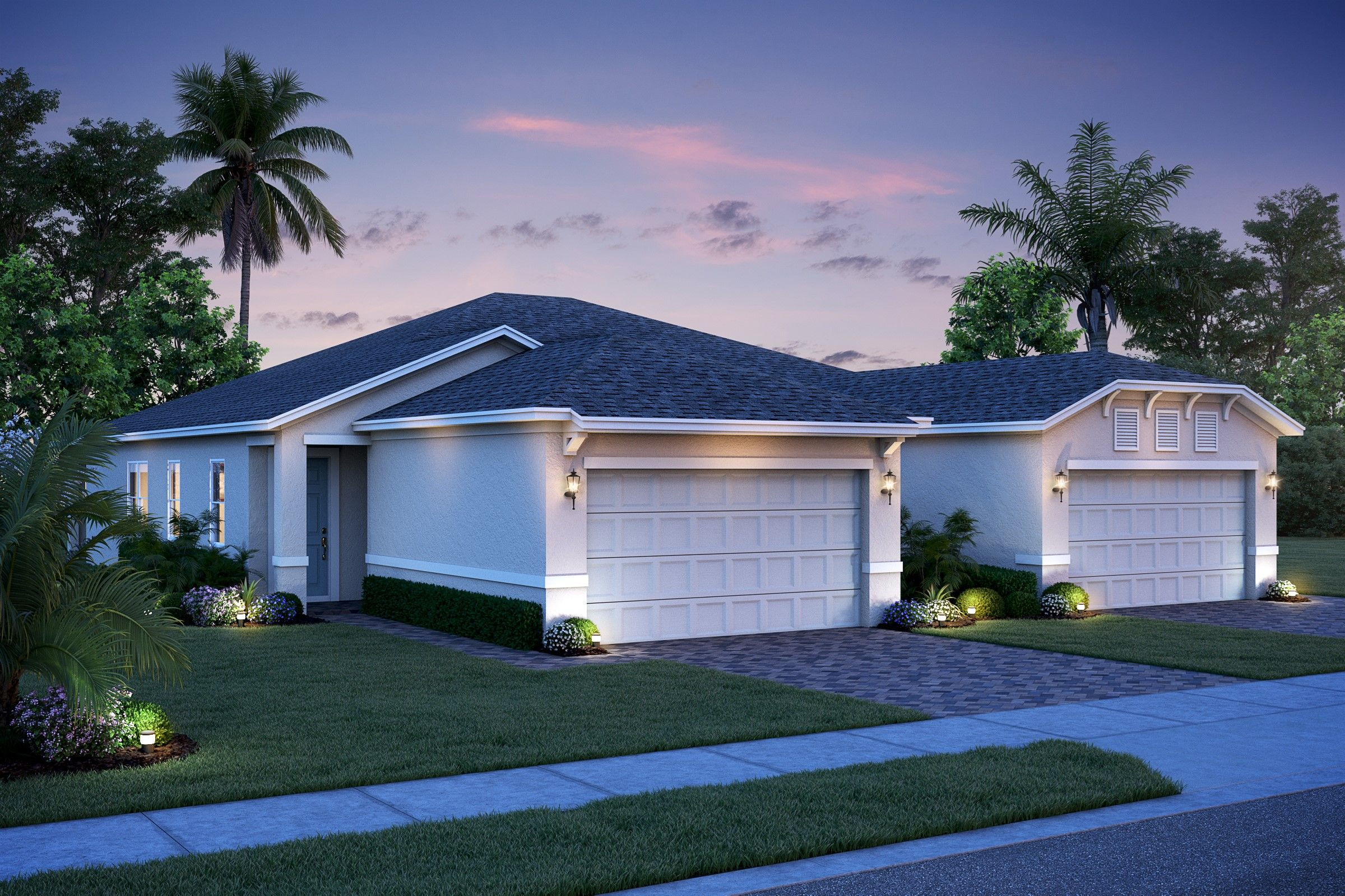 Exterior featured in the Sandpiper By K. Hovnanian's® Four Seasons in Orlando, FL