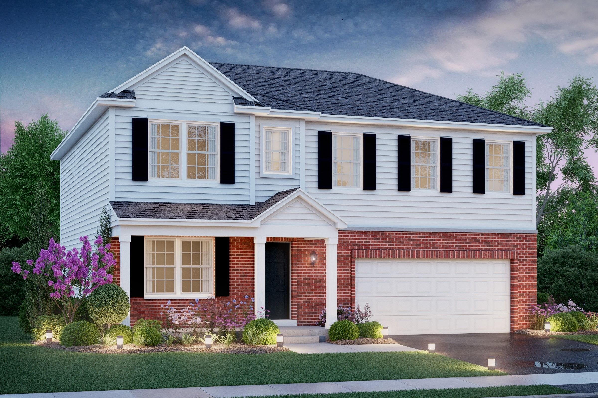 Exterior featured in the Colton By K. Hovnanian® Homes in Chicago, IL