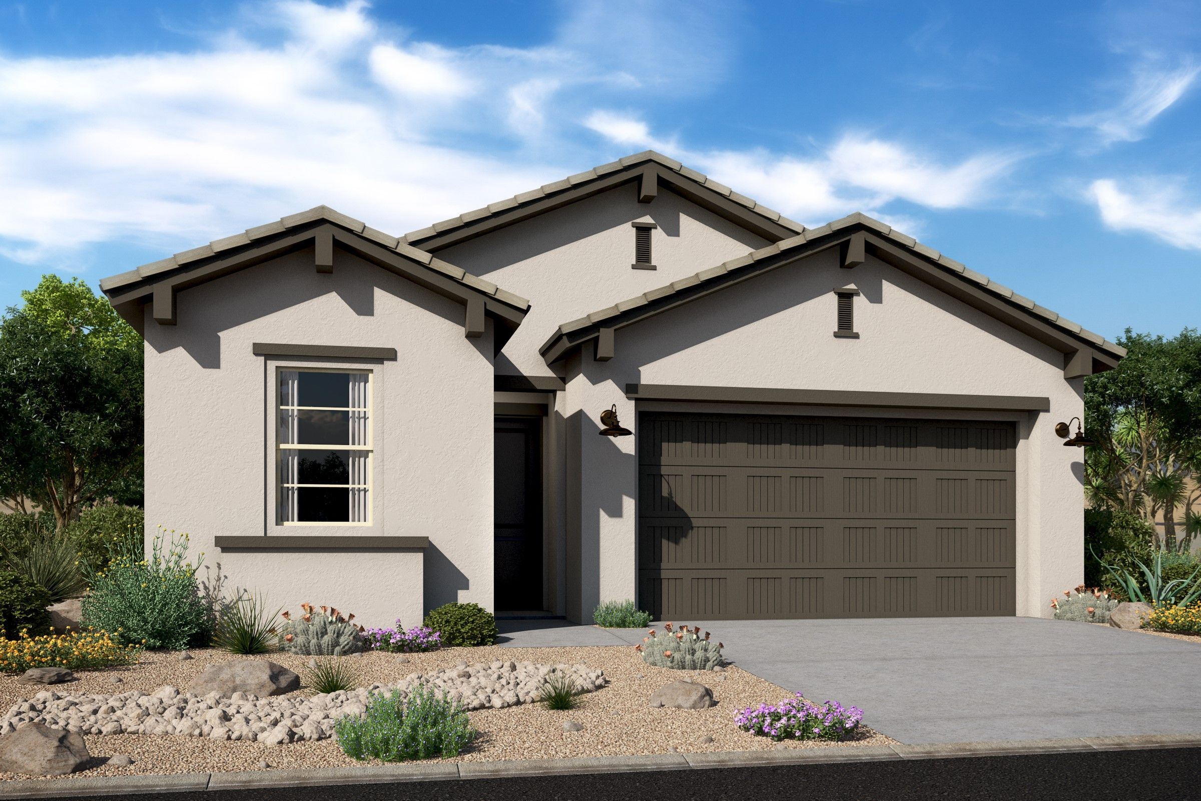 Exterior featured in the Cavallo By K. Hovnanian's® Four Seasons in Phoenix-Mesa, AZ