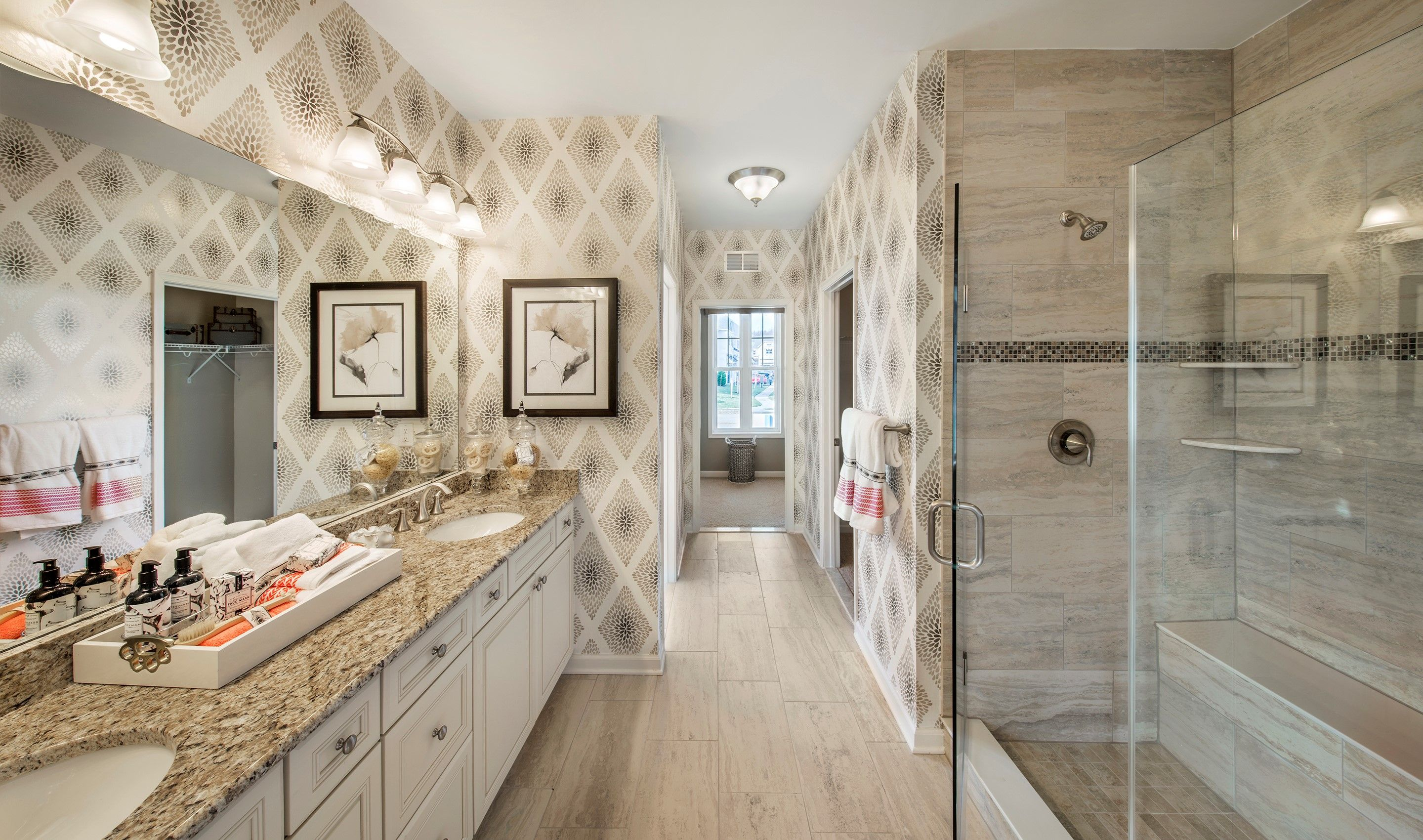 Bathroom featured in the Colby By K. Hovnanian® Homes in Essex County, NJ