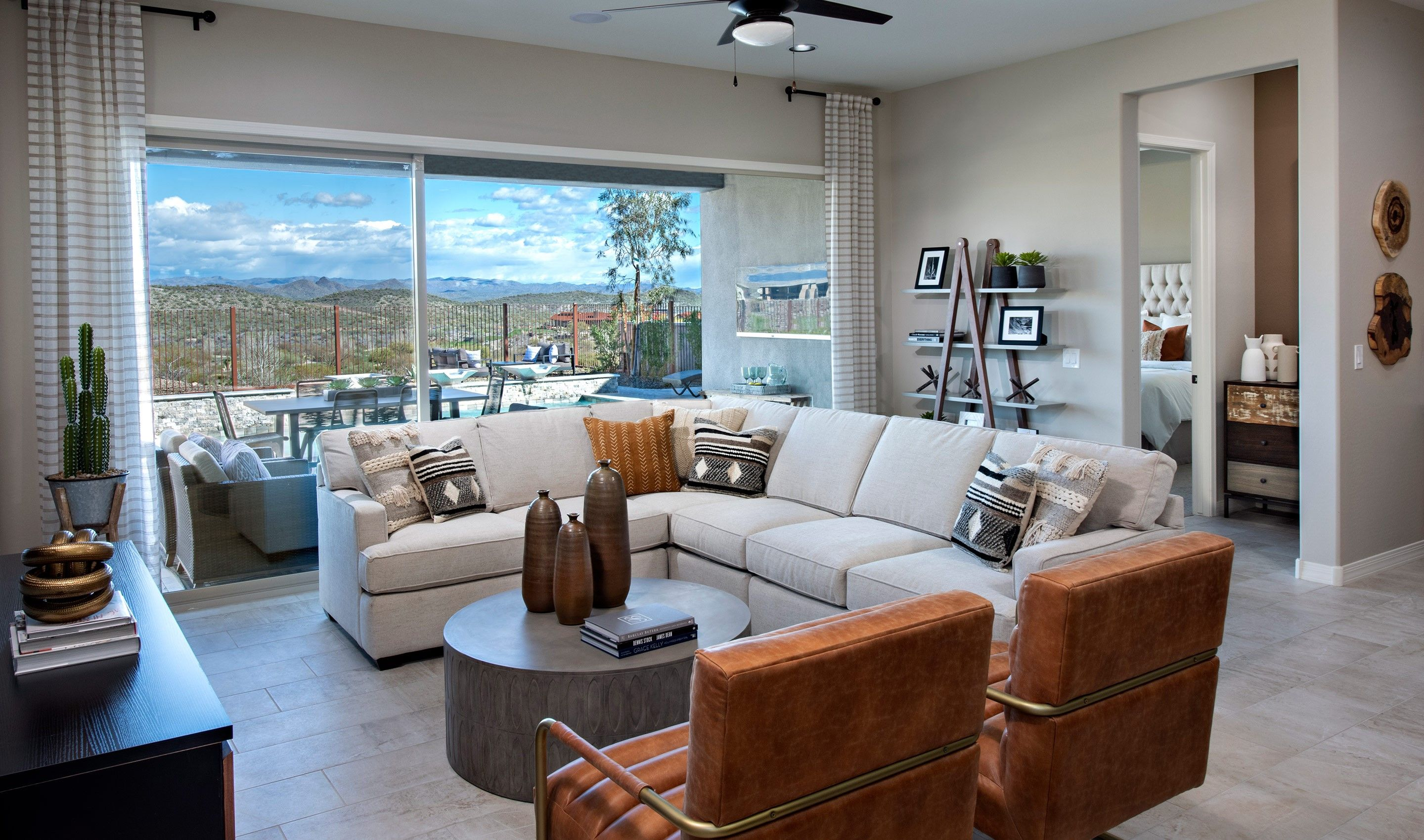 Living Area featured in the Cavallo By K. Hovnanian's® Four Seasons in Phoenix-Mesa, AZ