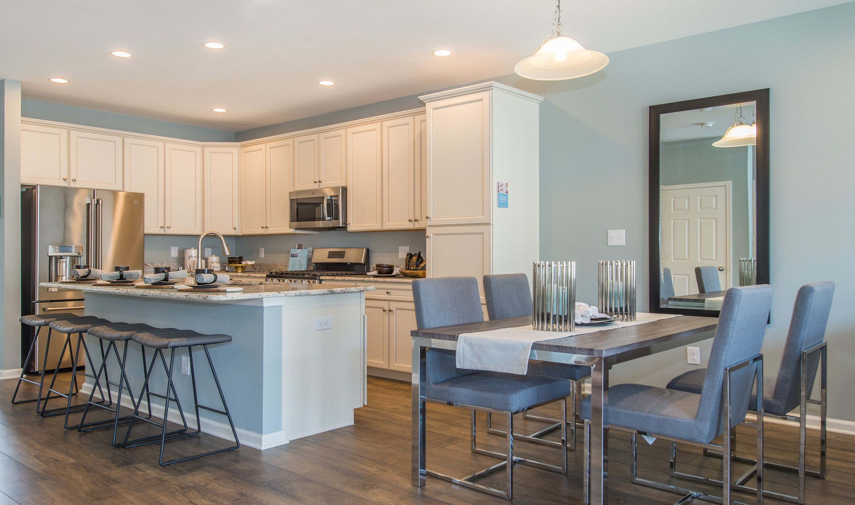Kitchen-in-Albright II-at-Arbors at Monroe-in-Monroe