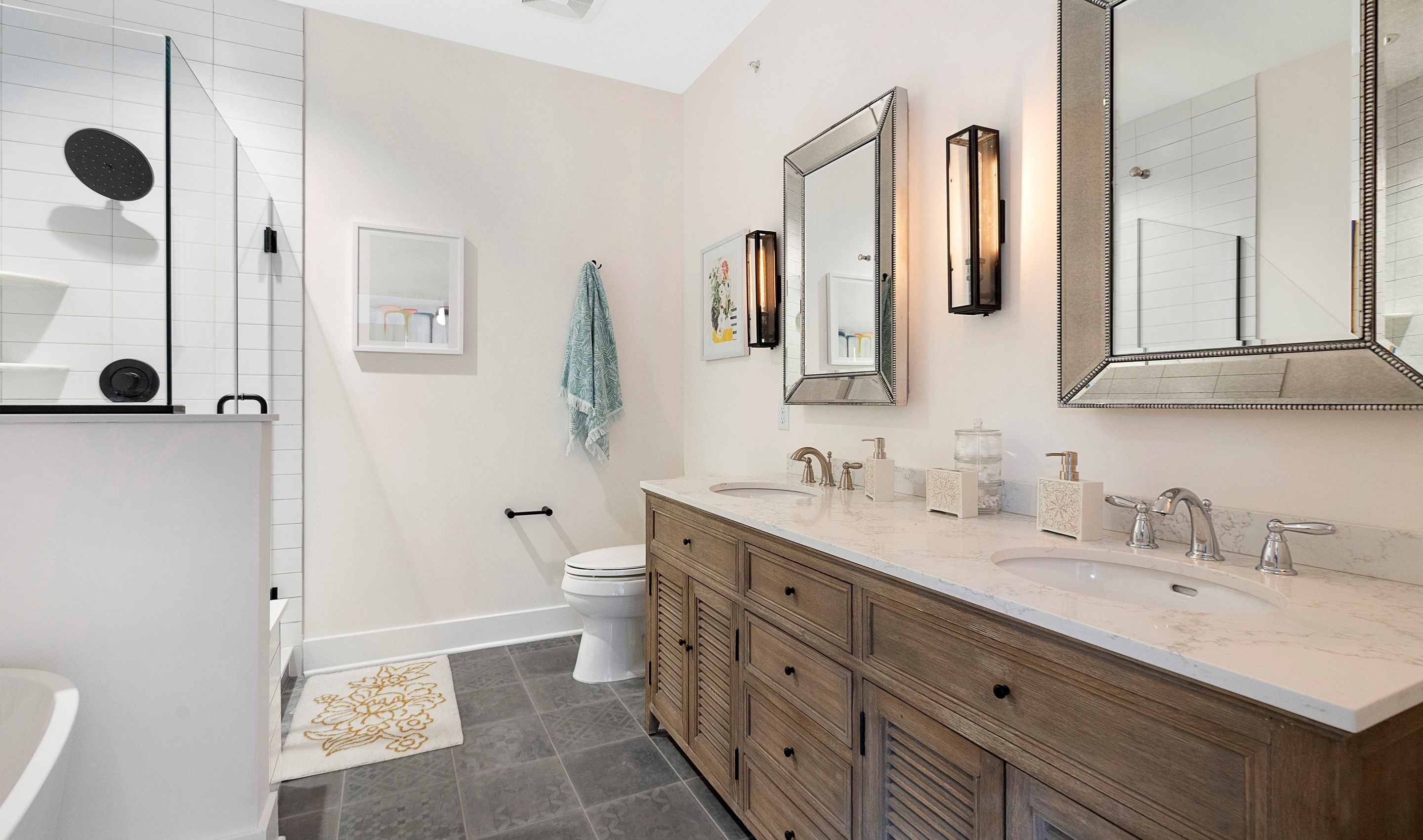Bathroom featured in the Yale II By K. Hovnanian® Homes in Essex County, NJ