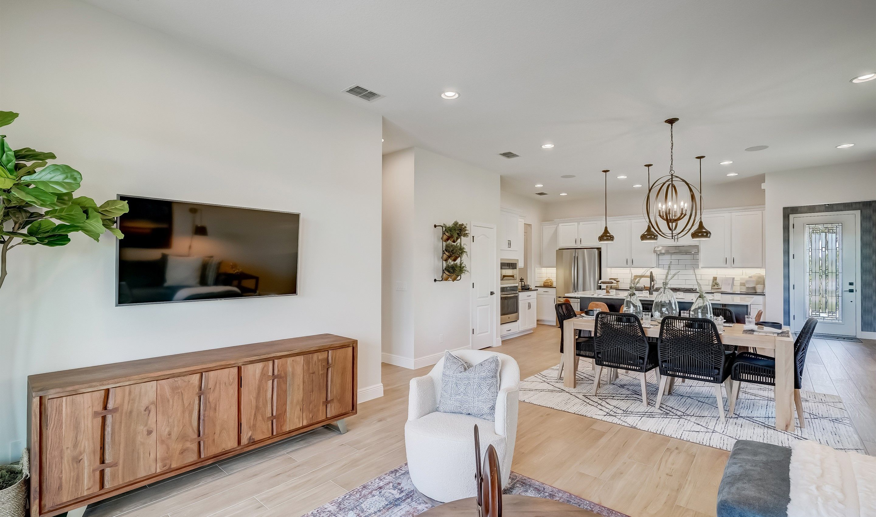 Living Area featured in the Emerie By K. Hovnanian's® Four Seasons in Orlando, FL