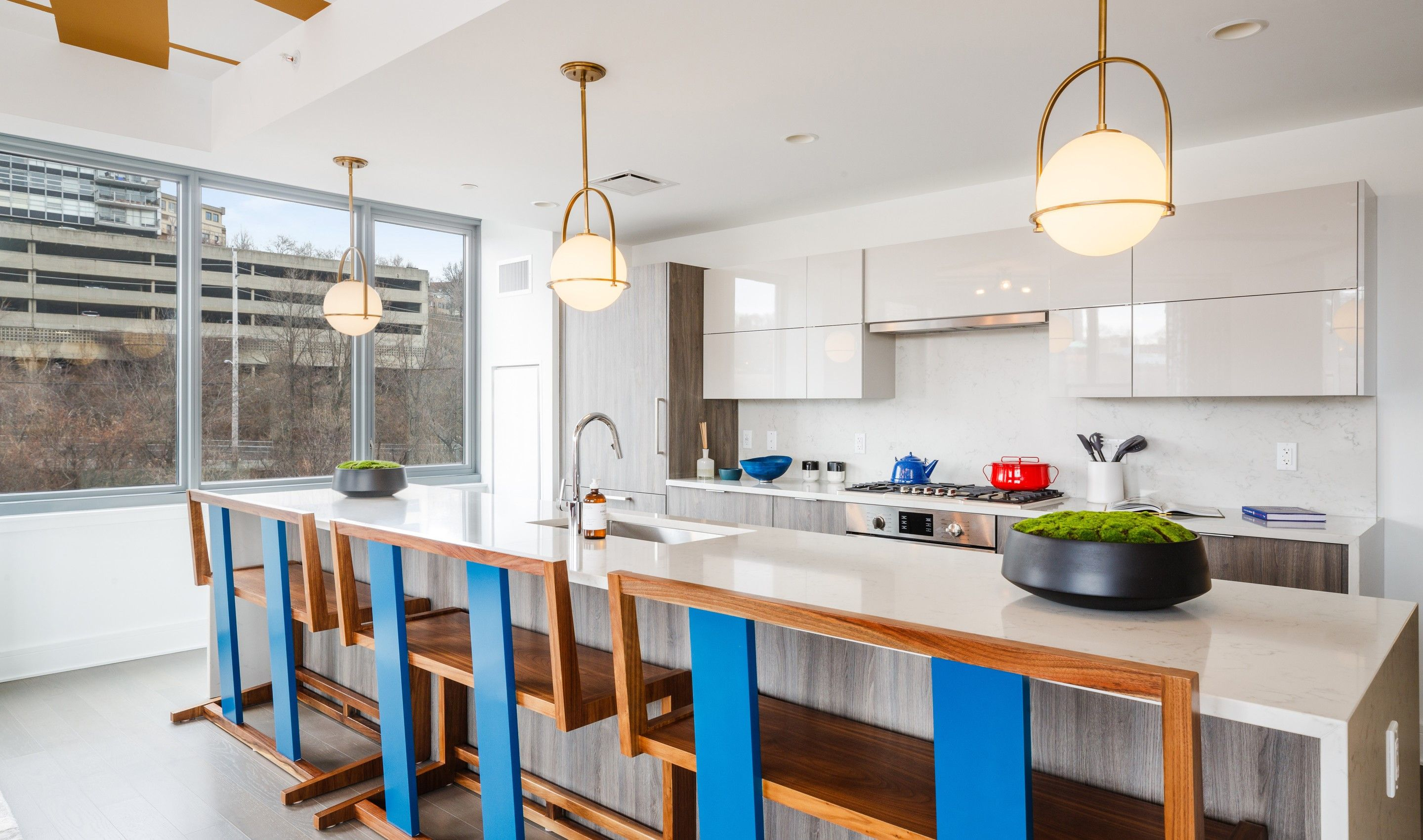 Kitchen featured in the C5 By K. Hovnanian® Homes in Hudson County, NJ