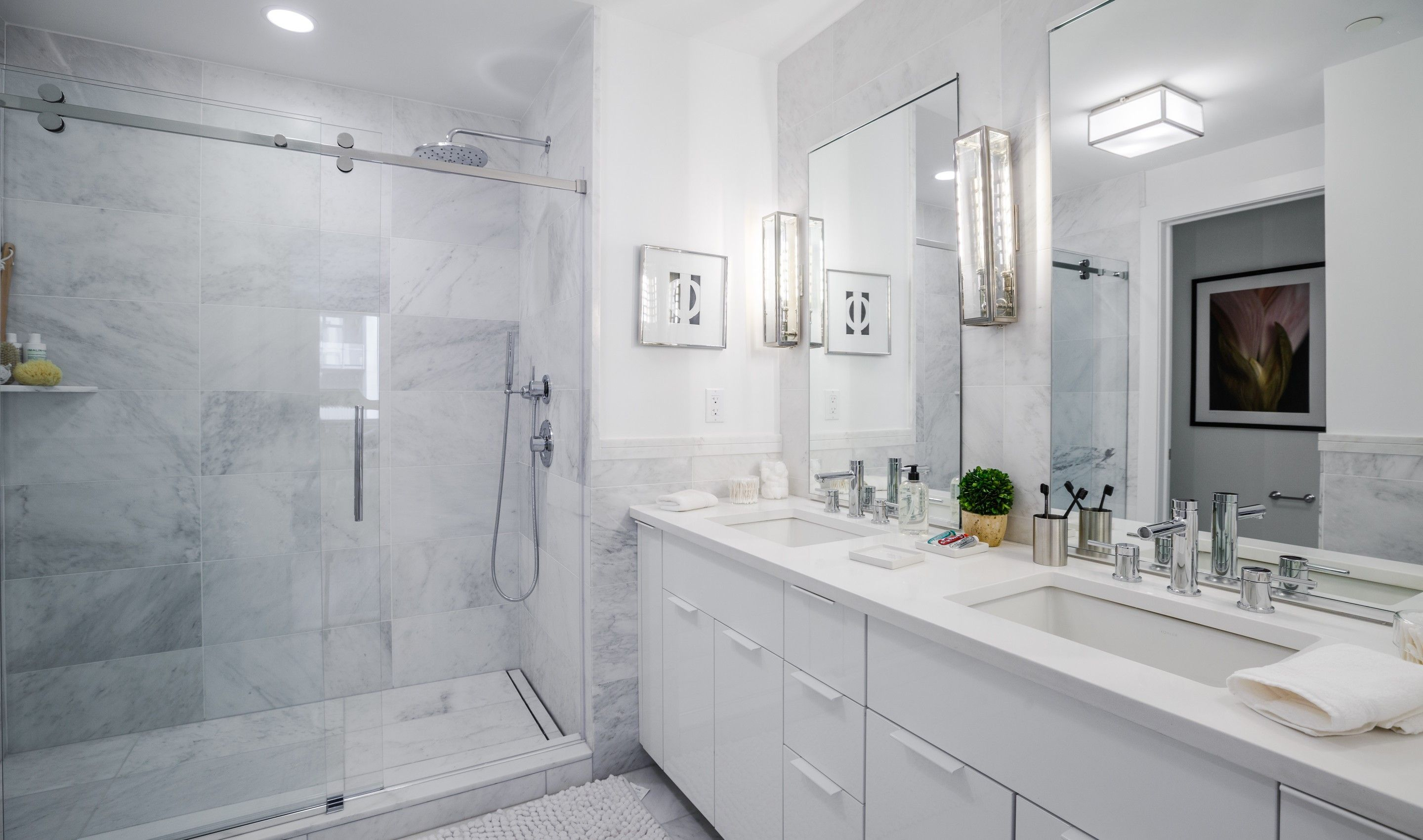 Bathroom featured in the B1 By K. Hovnanian® Homes in Hudson County, NJ