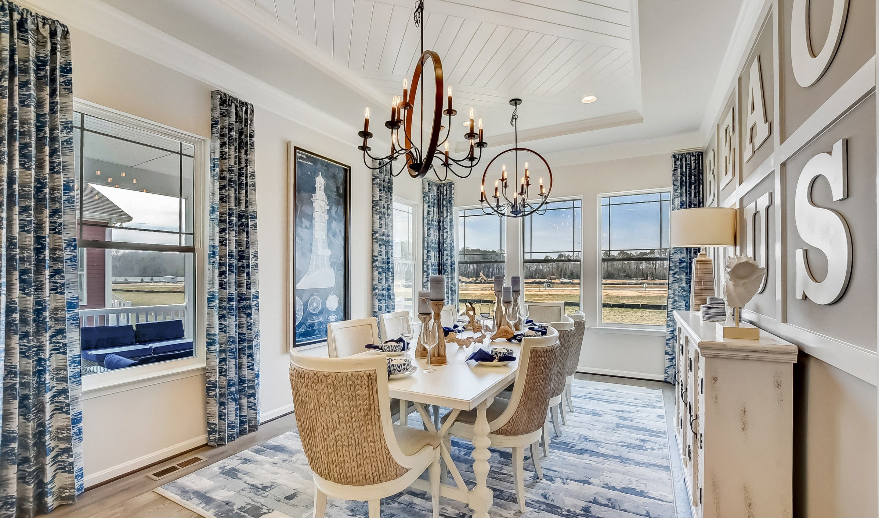 Living Area featured in the Killarney I By K. Hovnanian's® Four Seasons in Wilmington-Newark, DE
