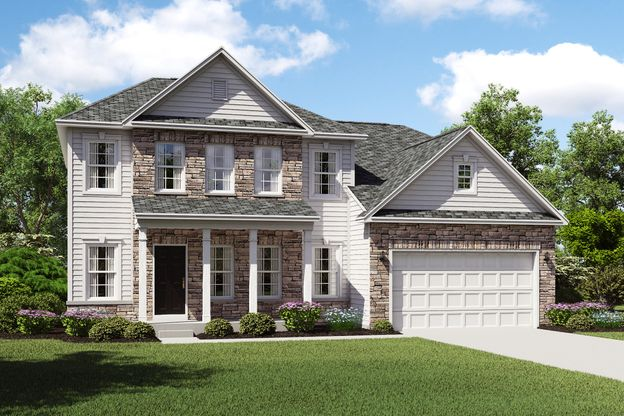 Exterior:Henderson G with opt. stone