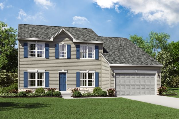 Exterior:Ellsworth A with opt. stone