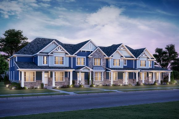 Exterior:Townhome Villas