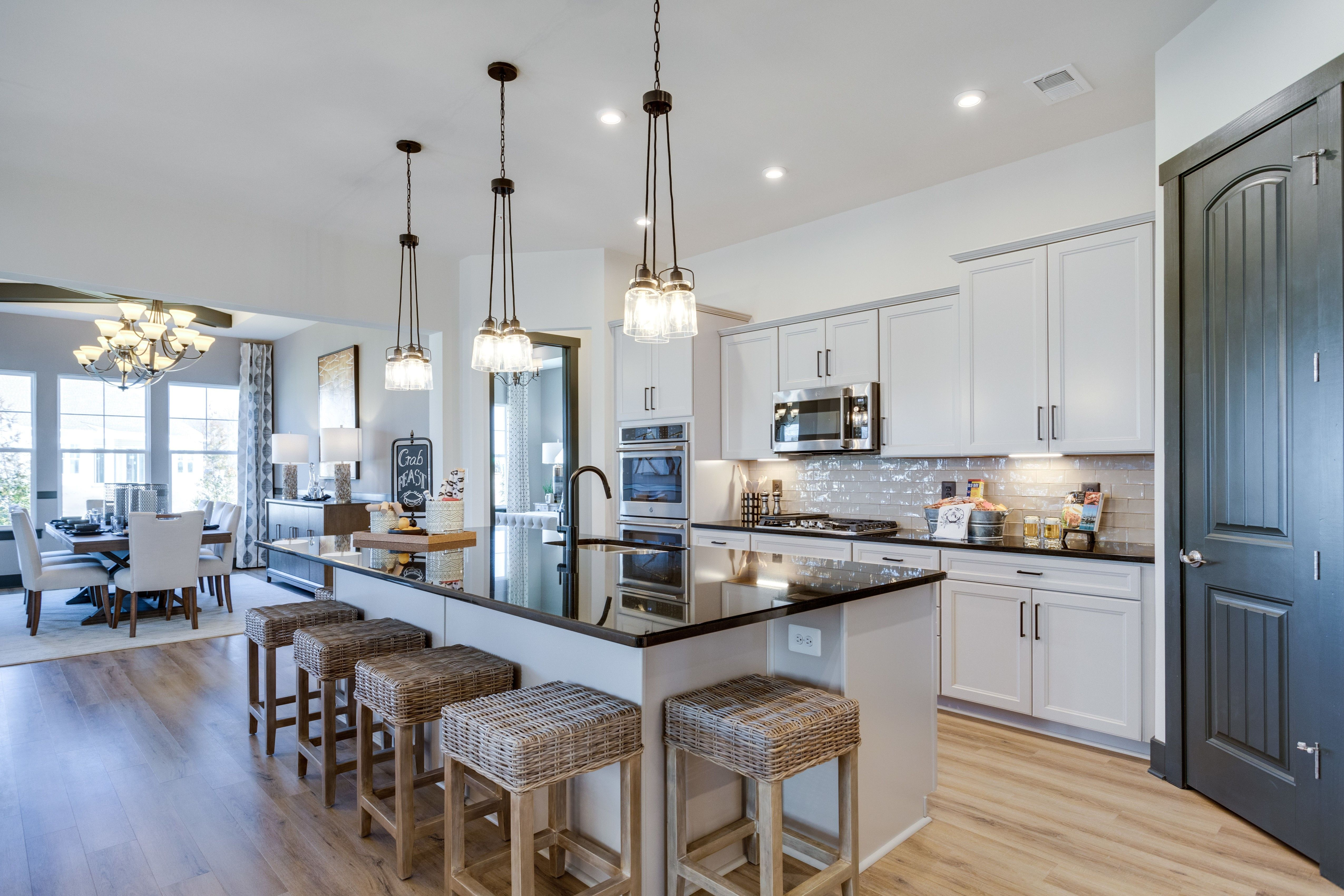 Kitchen featured in the Killarney I By K. Hovnanian's® Four Seasons in Eastern Shore, MD