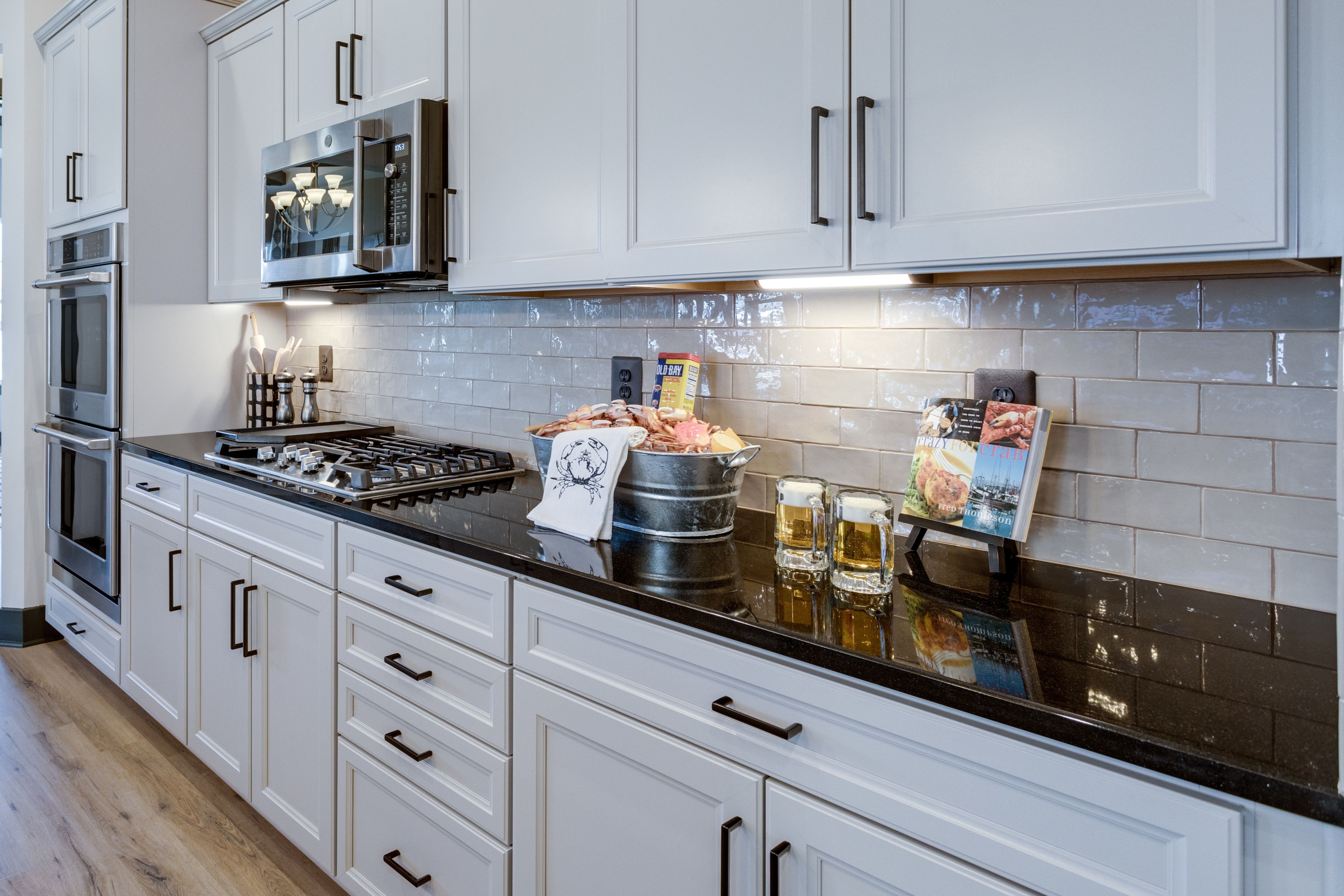 Kitchen featured in the Killarney I Loft By K. Hovnanian's® Four Seasons in Eastern Shore, MD