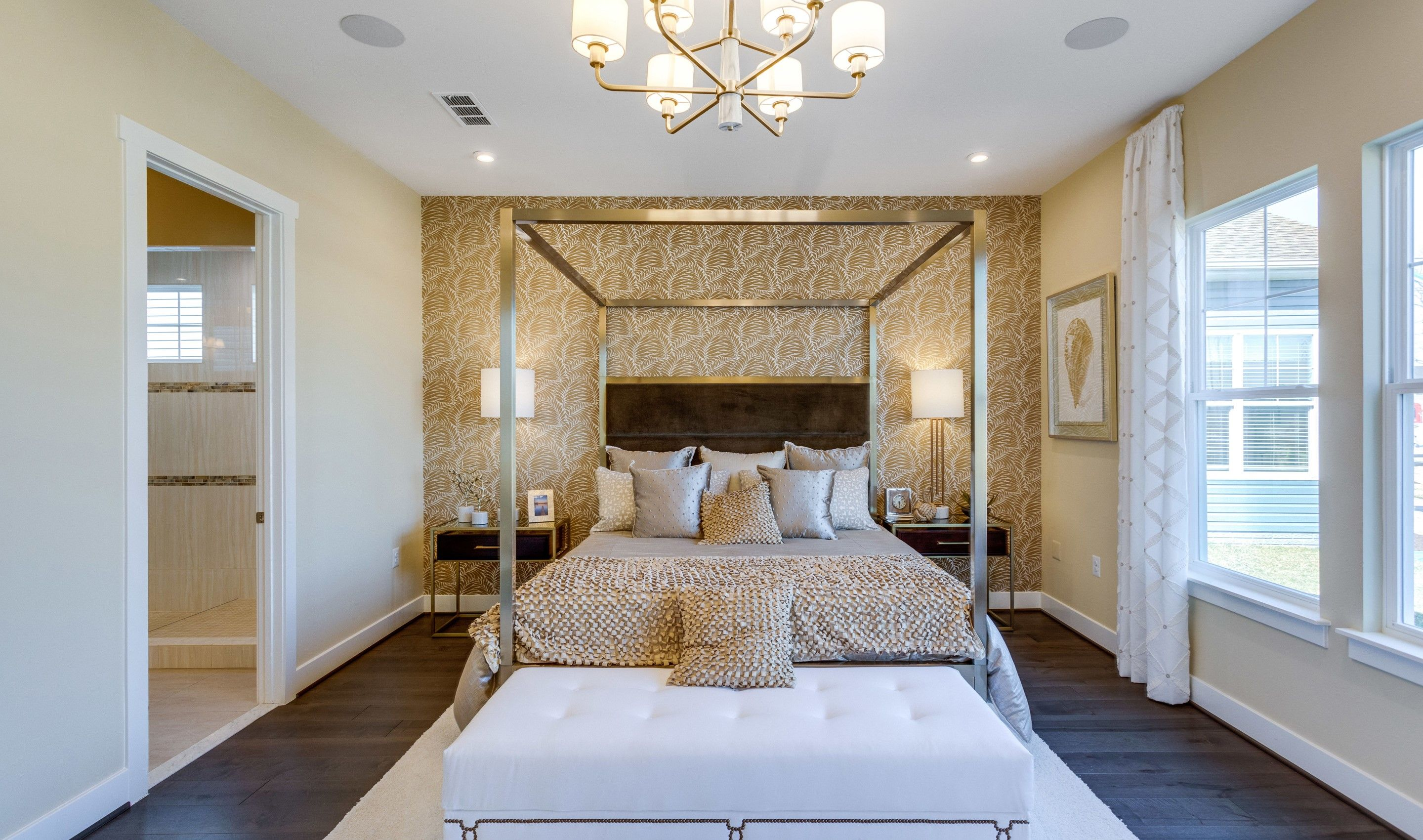Bedroom featured in the San Sebastian By K. Hovnanian's® Four Seasons in Eastern Shore, MD
