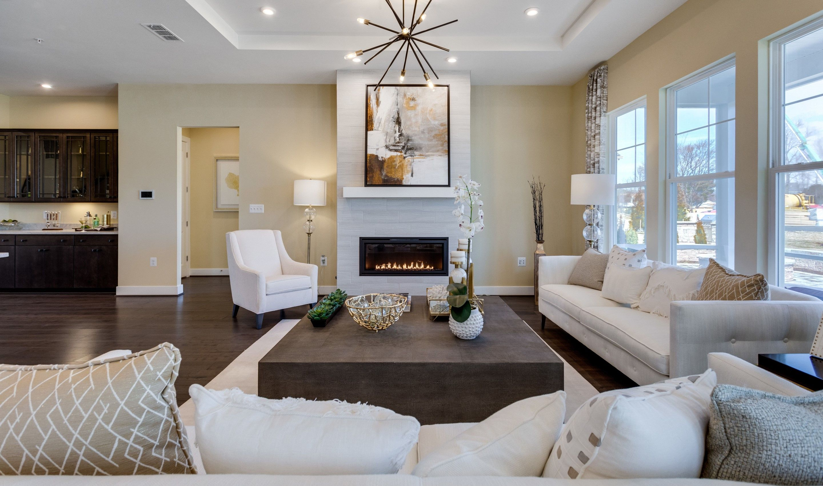 Living Area featured in the San Sebastian By K. Hovnanian's® Four Seasons in Eastern Shore, MD