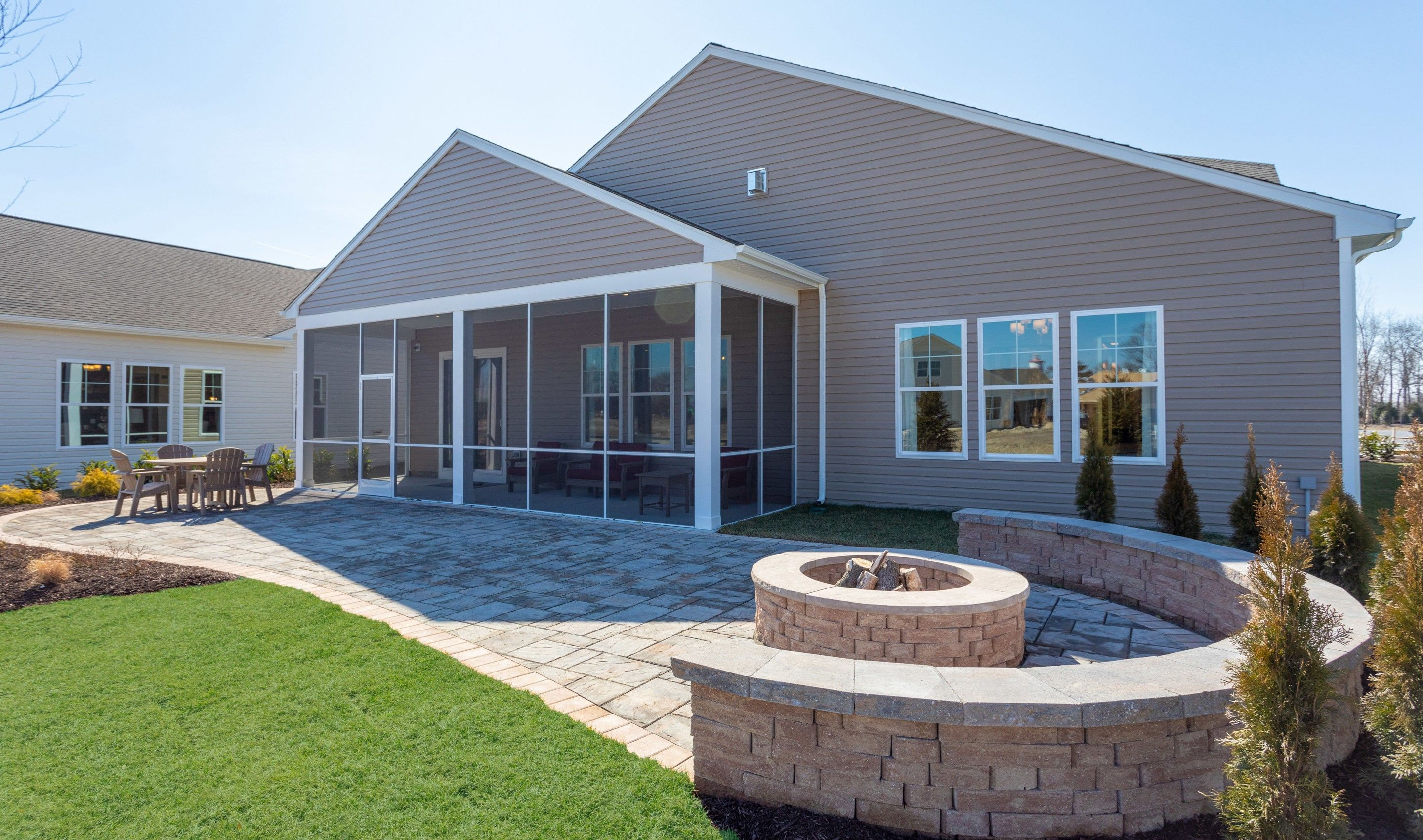 Exterior featured in the San Sebastian By K. Hovnanian's® Four Seasons in Eastern Shore, MD