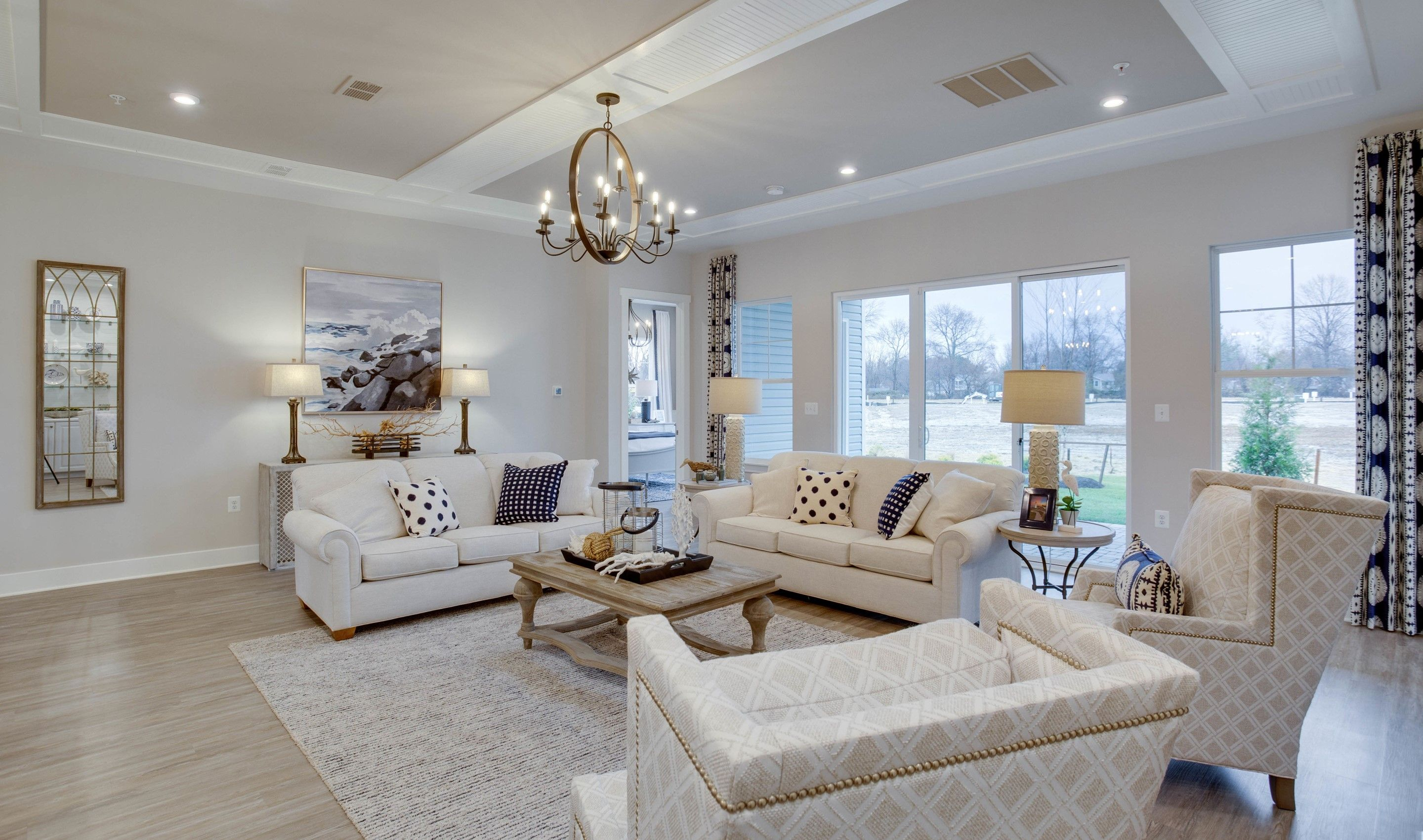 Living Area featured in the Santorini By K. Hovnanian's® Four Seasons in Eastern Shore, MD