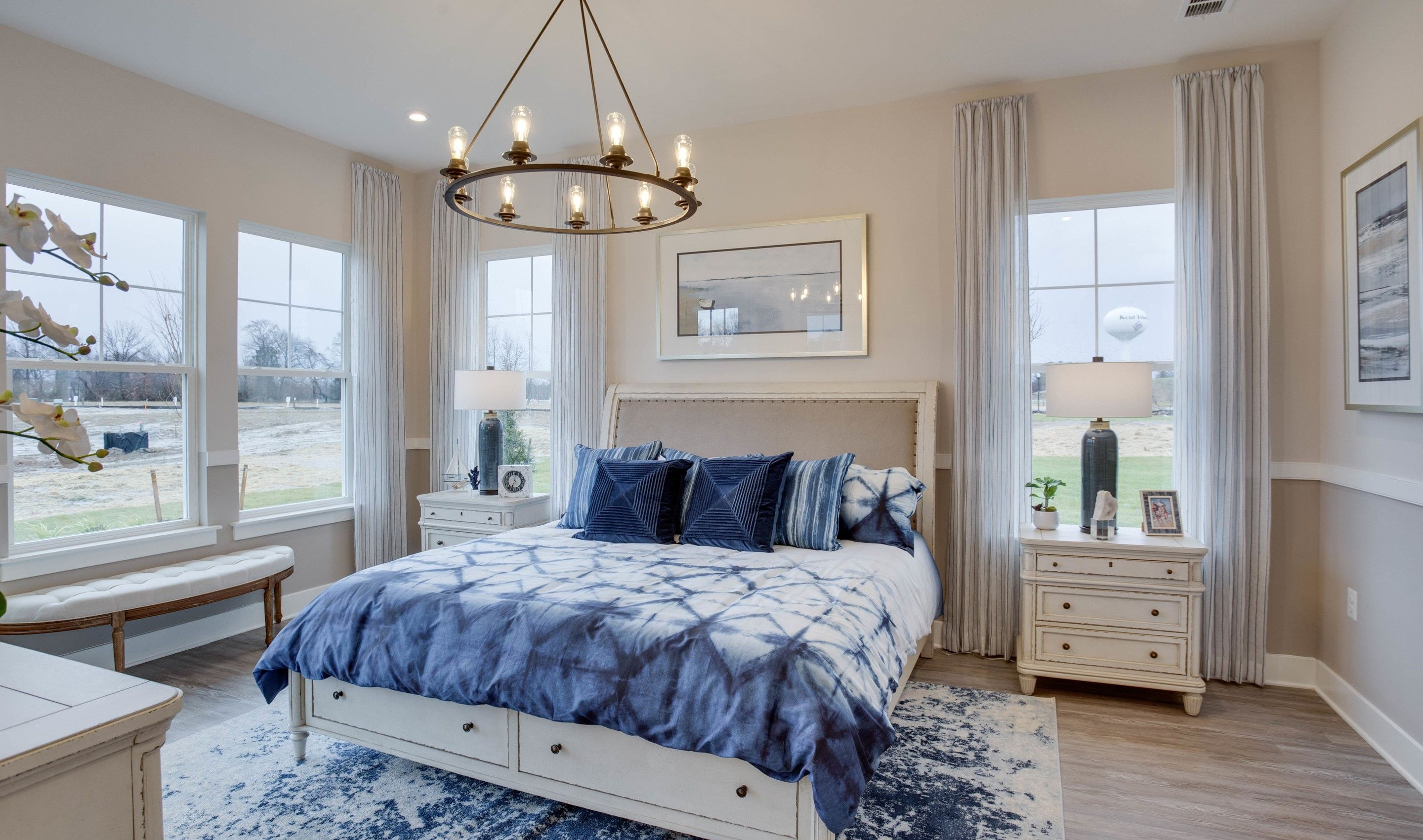 Bedroom featured in the Santorini By K. Hovnanian's® Four Seasons in Eastern Shore, MD