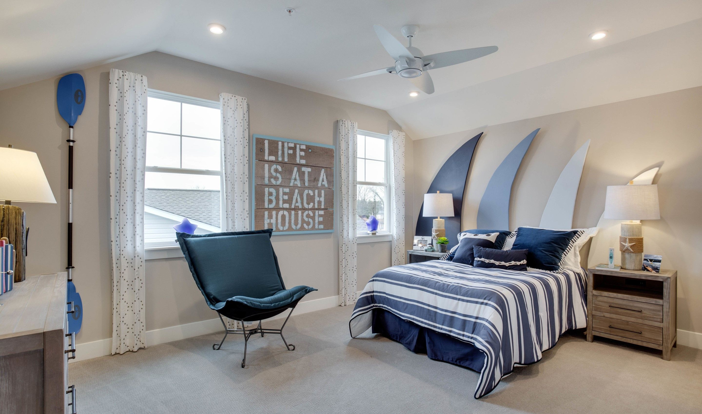 Bedroom featured in the Santorini Loft By K. Hovnanian's® Four Seasons in Eastern Shore, MD
