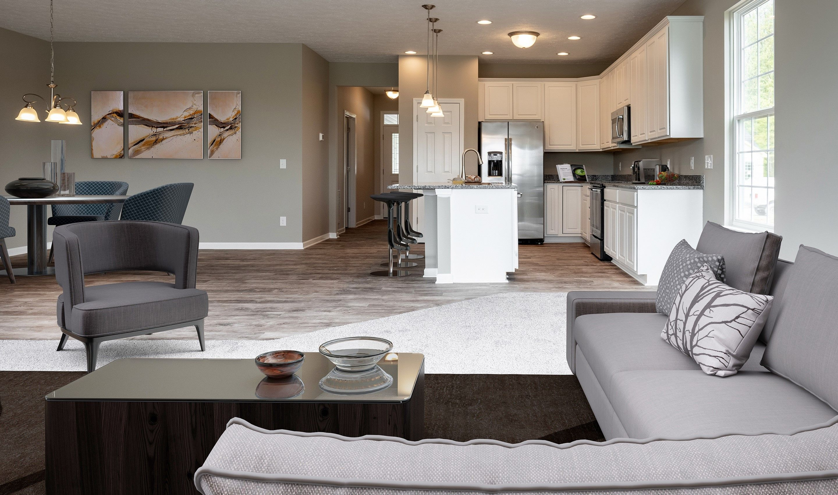 Living Area featured in the Athens By K. Hovnanian's® Four Seasons in Eastern Shore, MD