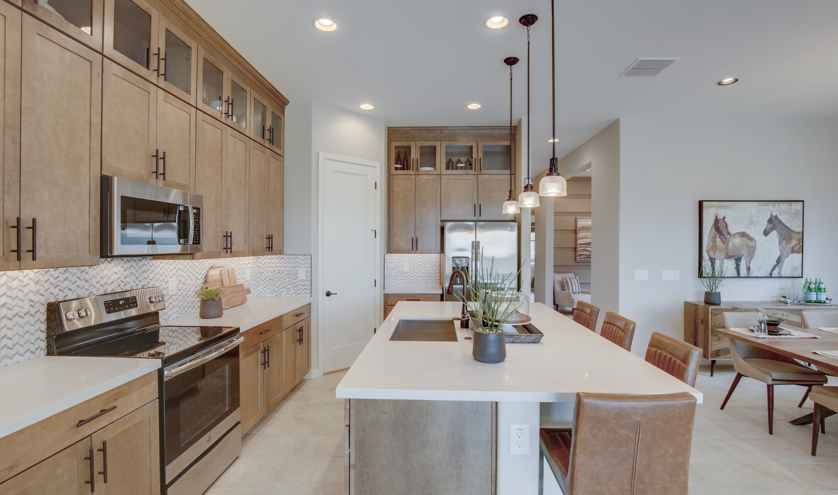 Kitchen featured in the Cavallo By K. Hovnanian's® Four Seasons in Phoenix-Mesa, AZ
