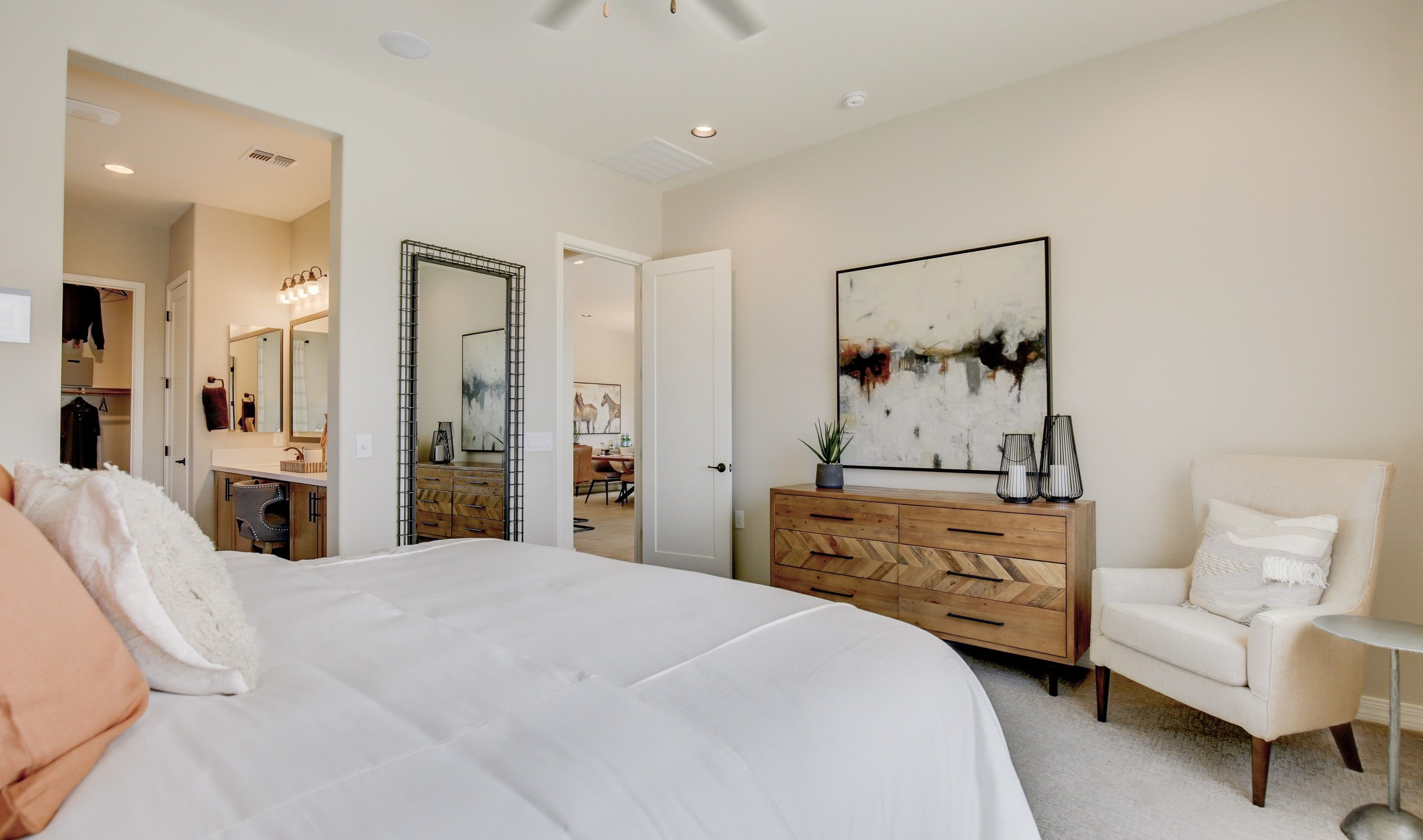 Bedroom featured in the Cavallo By K. Hovnanian's® Four Seasons in Phoenix-Mesa, AZ