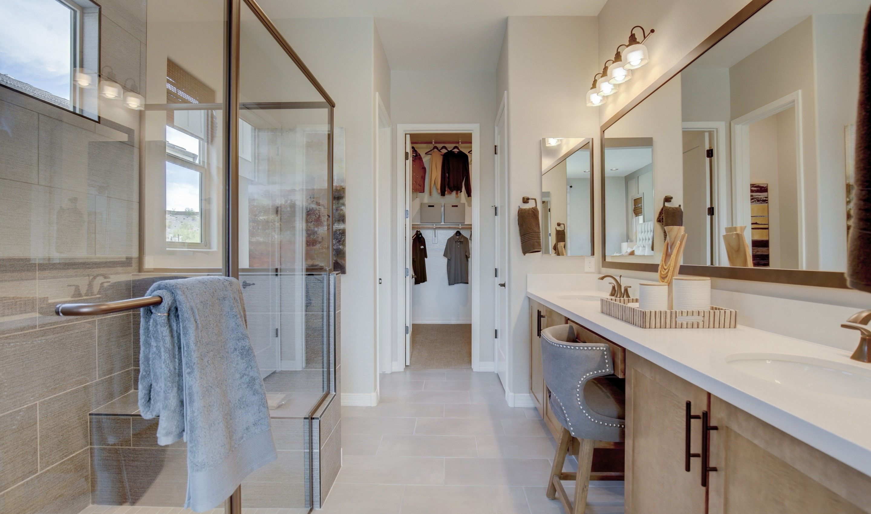 Bathroom featured in the Cavallo By K. Hovnanian's® Four Seasons in Phoenix-Mesa, AZ