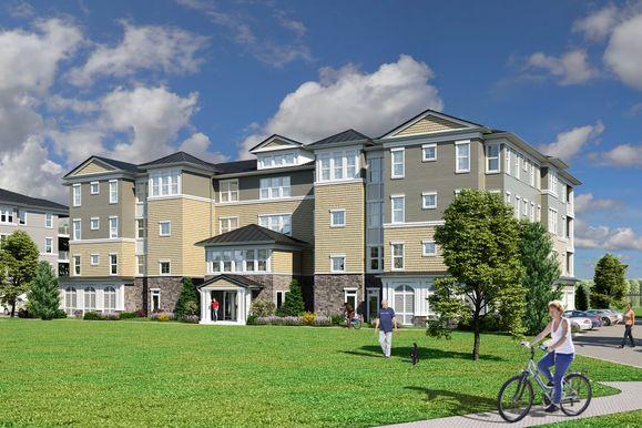 Exterior:Luxurious Condominiums