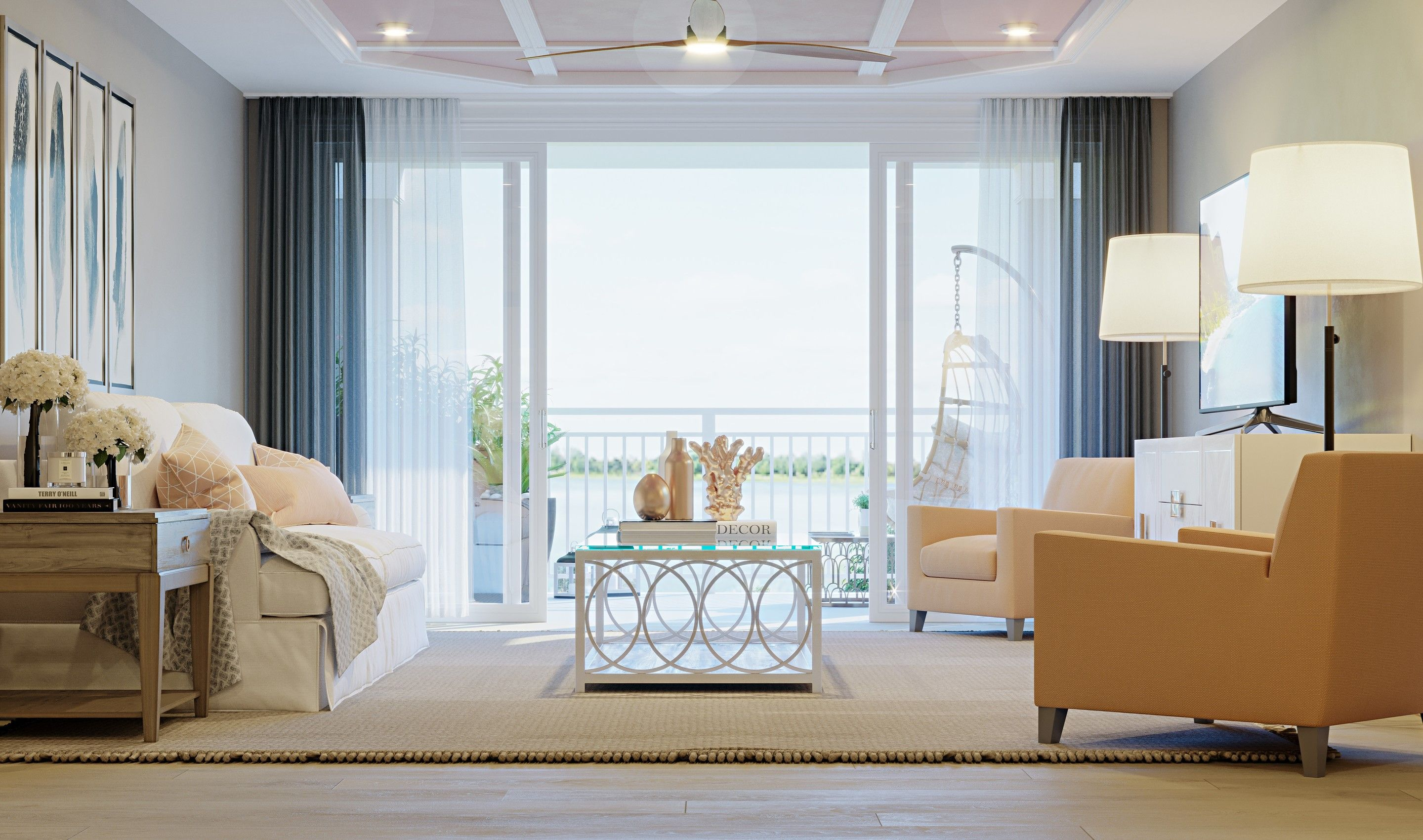 Living Area featured in the Chester By K. Hovnanian's® Four Seasons in Eastern Shore, MD
